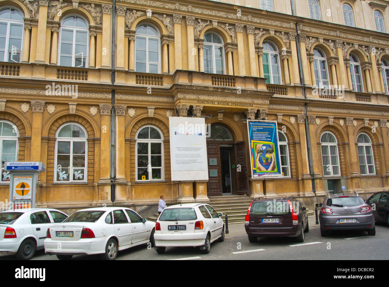 Ethnographic museum central Warsaw Poland Europe - Stock Image