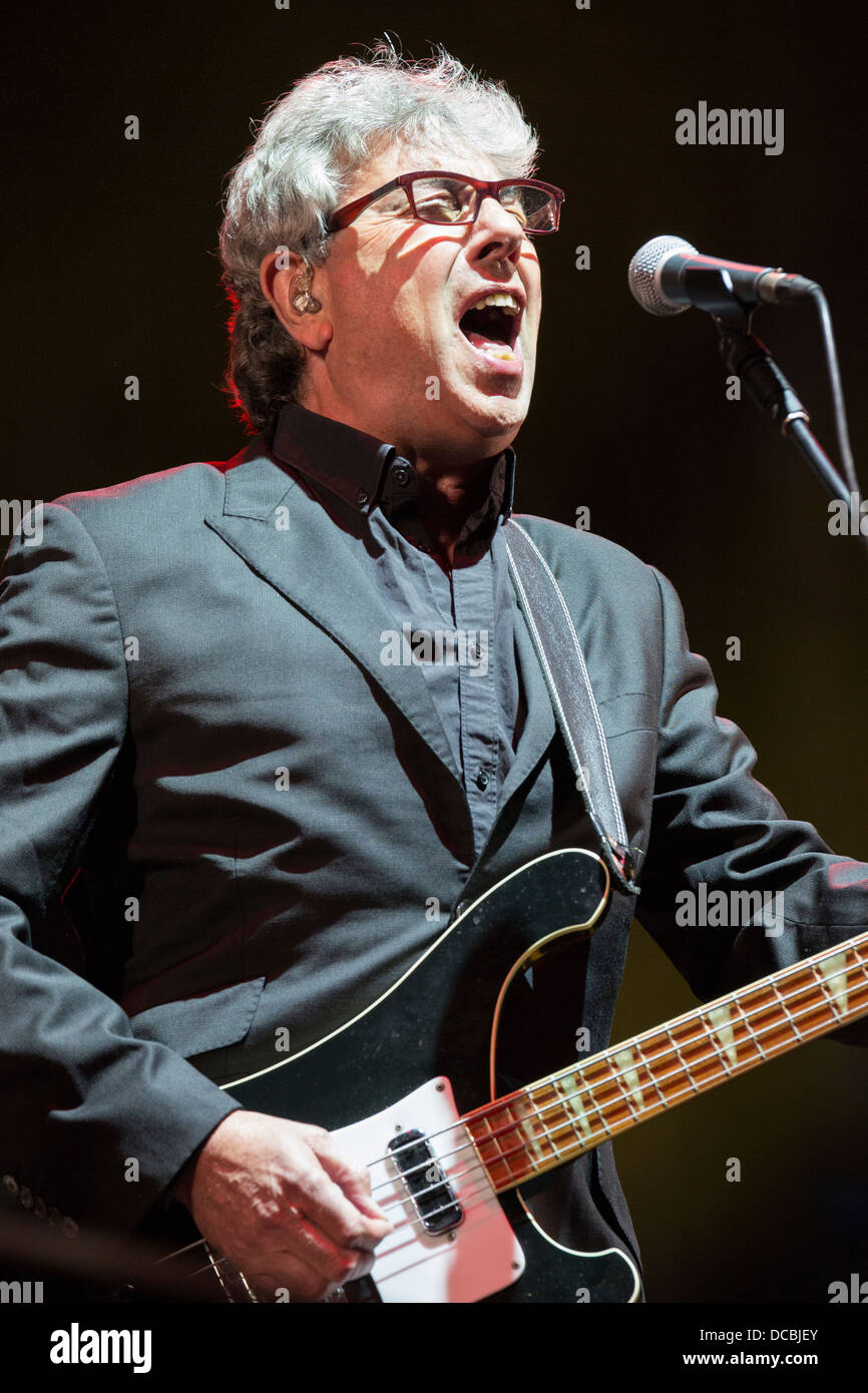 Graham Gouldman of 10cc at Fairport's Cropredy Convention 2013 - Stock Image