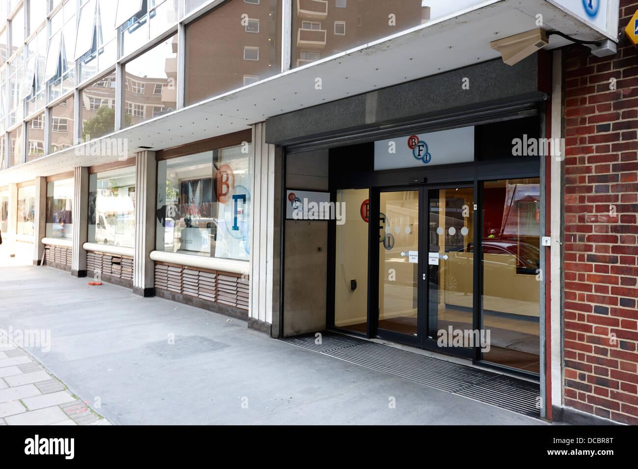 bfi the british film institute offices stephen street London England UK - Stock Image