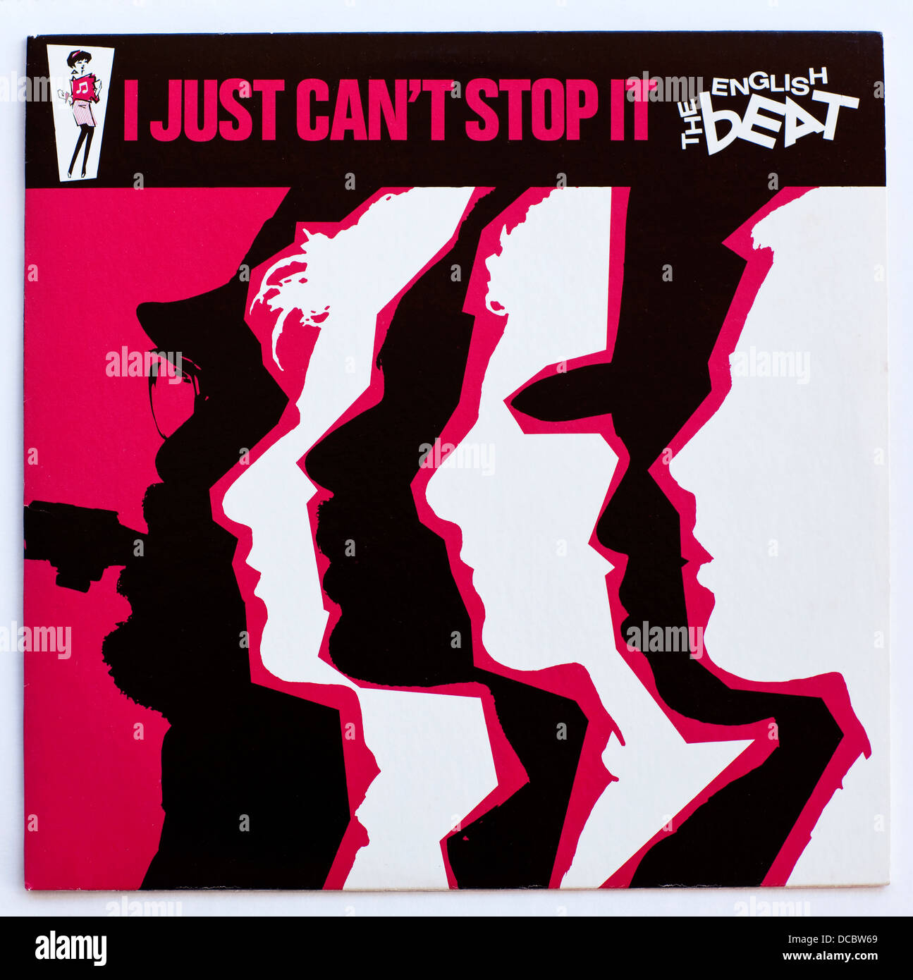The English Beat - I Just Can't Stop it, 1980 American release on Sire Records - Stock Image