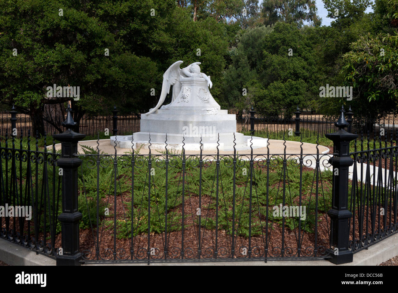 Angel Of Grief Statue, Stanford, California, United States Of America