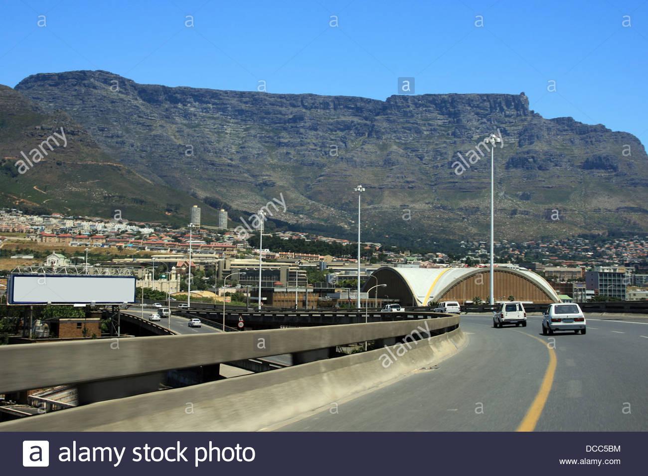 Kaapstad town - Stock Image
