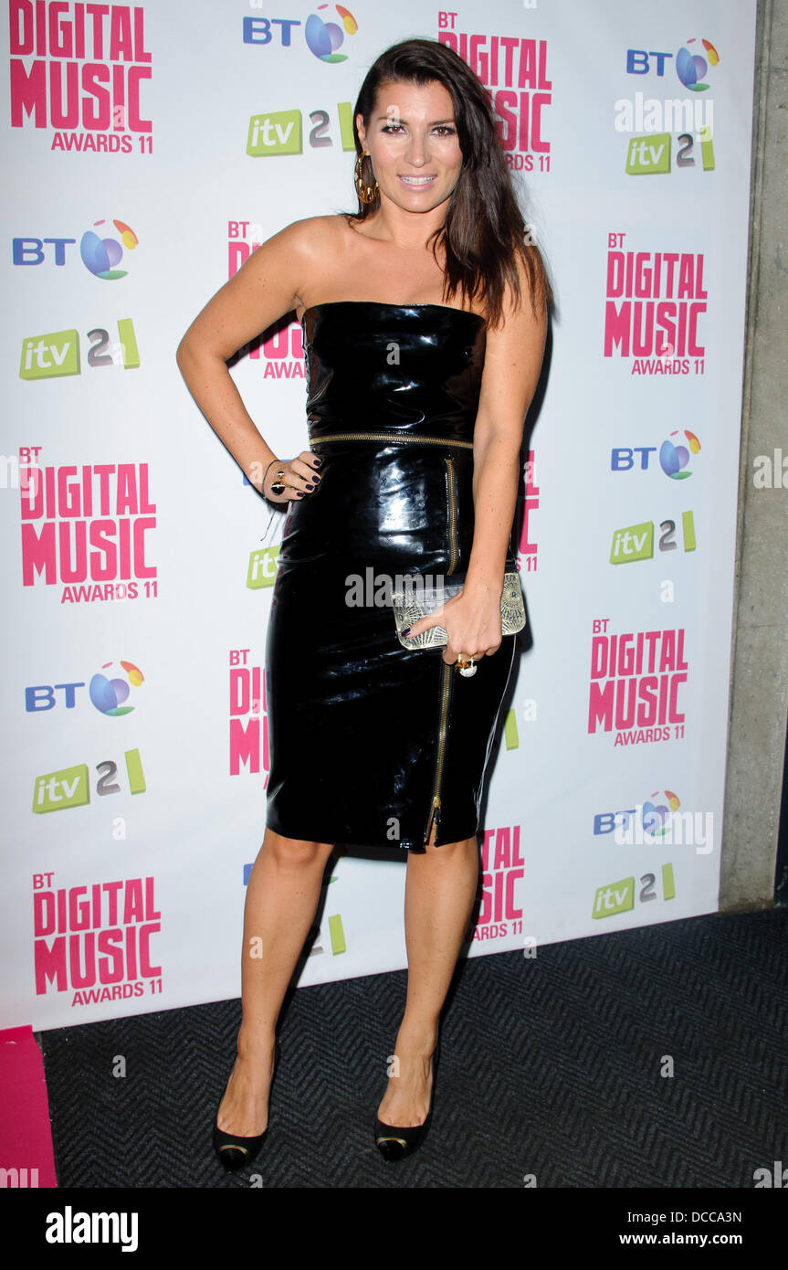 c08a99130be2 Grace Woodward BT Digital Music Awards 2011 held at the Roundhouse -  Arrivals. London