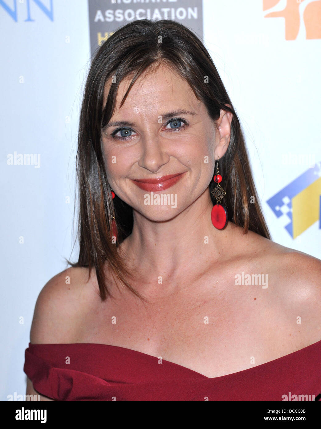 Kellie Martin The American Humane Association's first annual Hero Dog Awards at The Beverly Hilton hotel Beverly Stock Photo