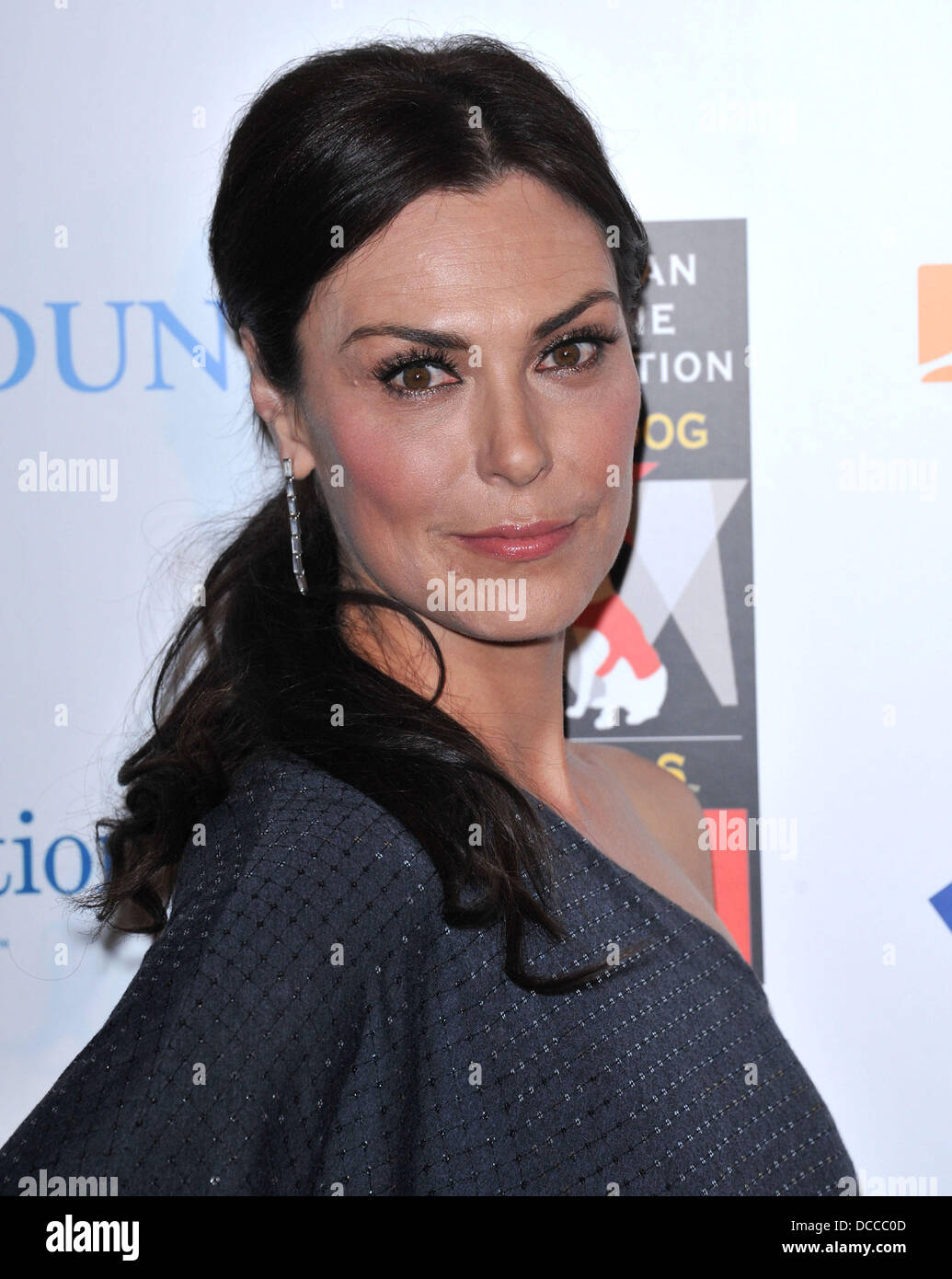 Michelle Forbes The American Humane Association's first annual Hero Dog Awards at The Beverly Hilton hotel Beverly Stock Photo