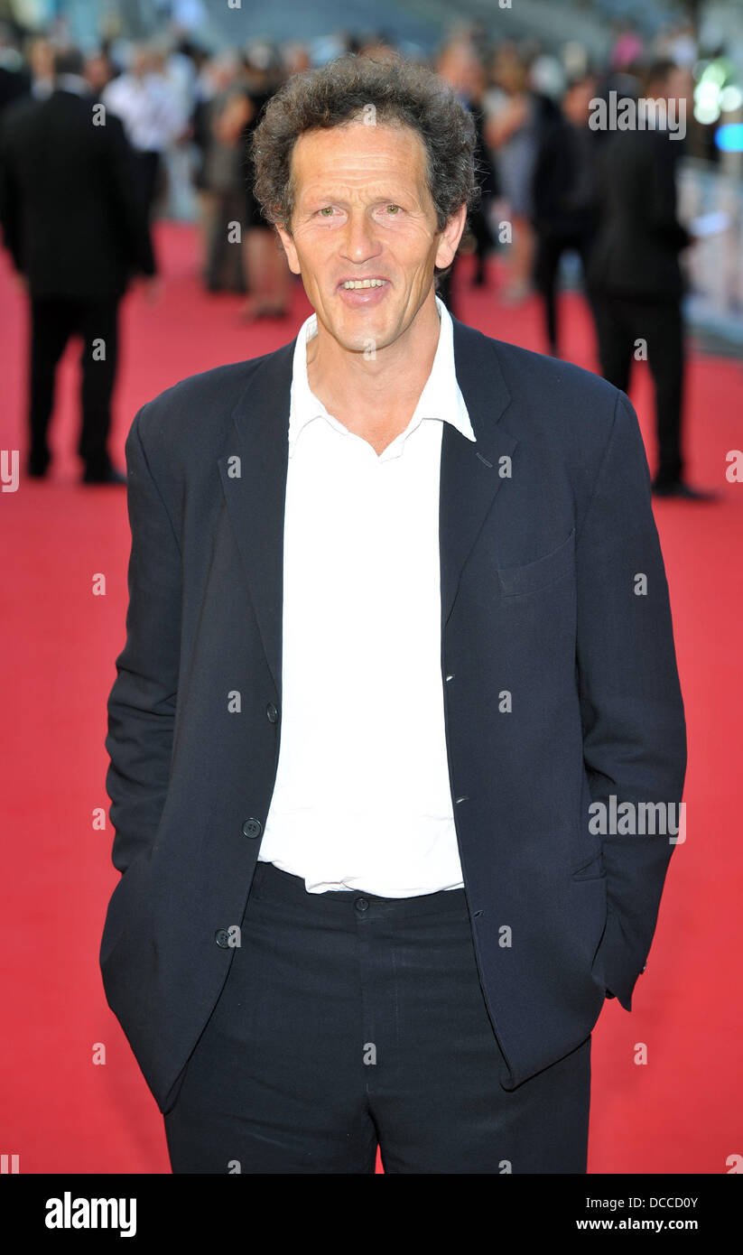 Monty Don George Harrison UK film premiere held at the BFI Southbank - Arrivals. London, England - 02.10.11 - Stock Image