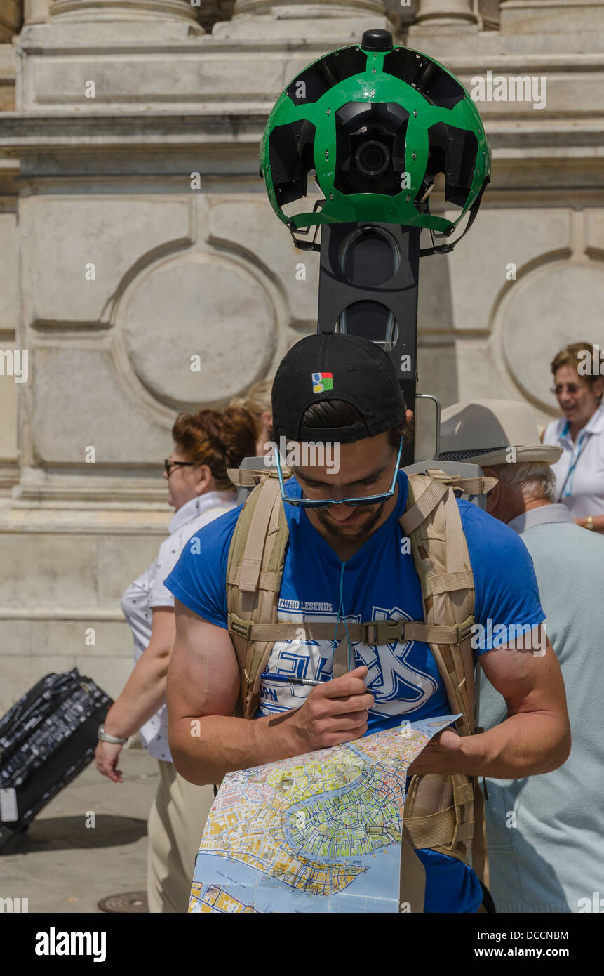 A man emplo by Google to map the Streets and Canals of ... Google Map Venice Italy on google map frankfurt germany, canals of venice italy, youtube venice italy, weather venice italy, google map cambridge uk, city venice italy, google map cape town south africa, google map beijing china, google map san diego, business venice italy, mapquest venice italy, google map nassau bahamas, google map dubrovnik croatia, google map new orleans, google map shanghai china, google map las vegas, mail venice italy, google map xiamen china, history venice italy, google map budapest hungary,