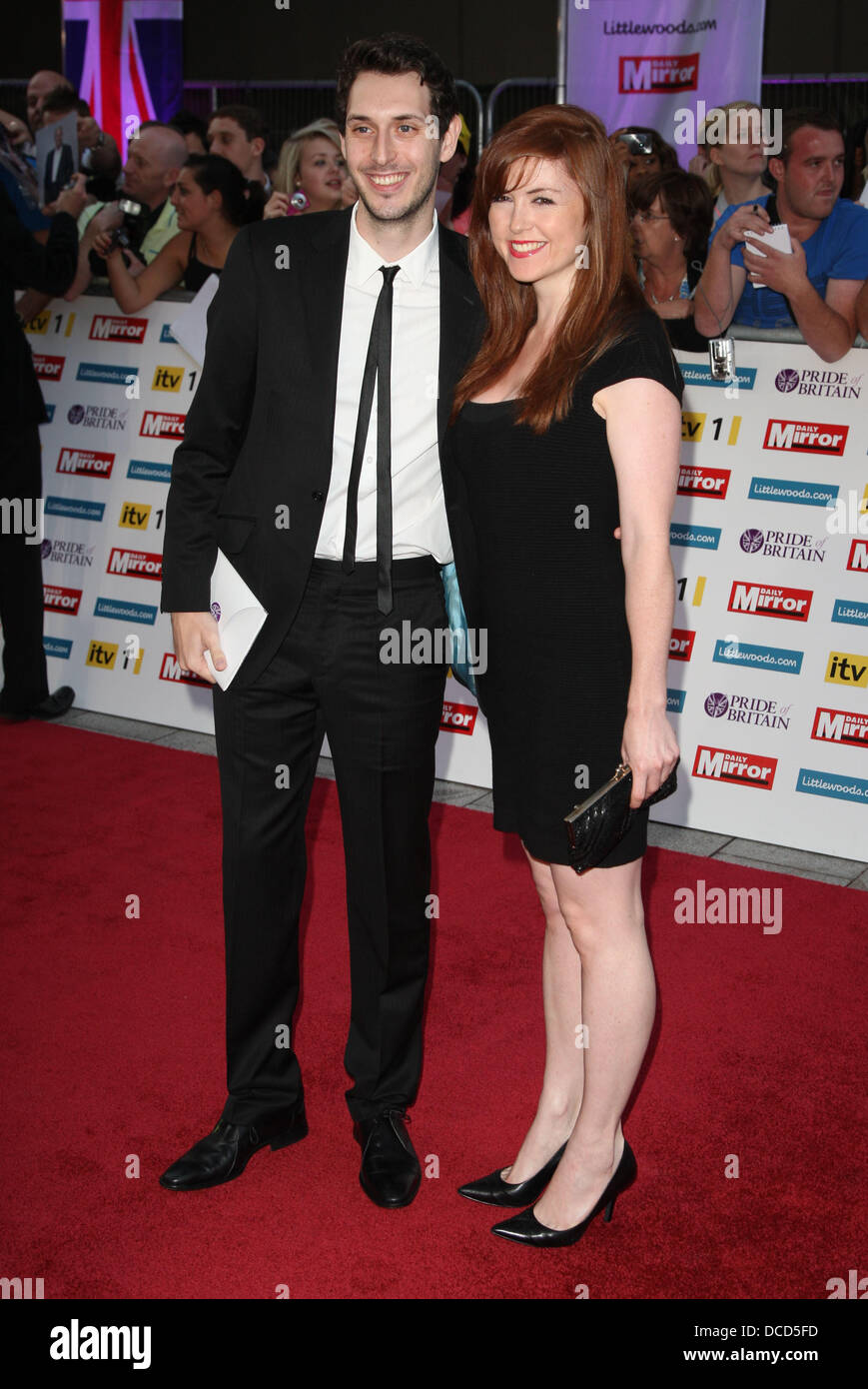 blake harrison and kerry ann lynch the pride of britain awards 2011
