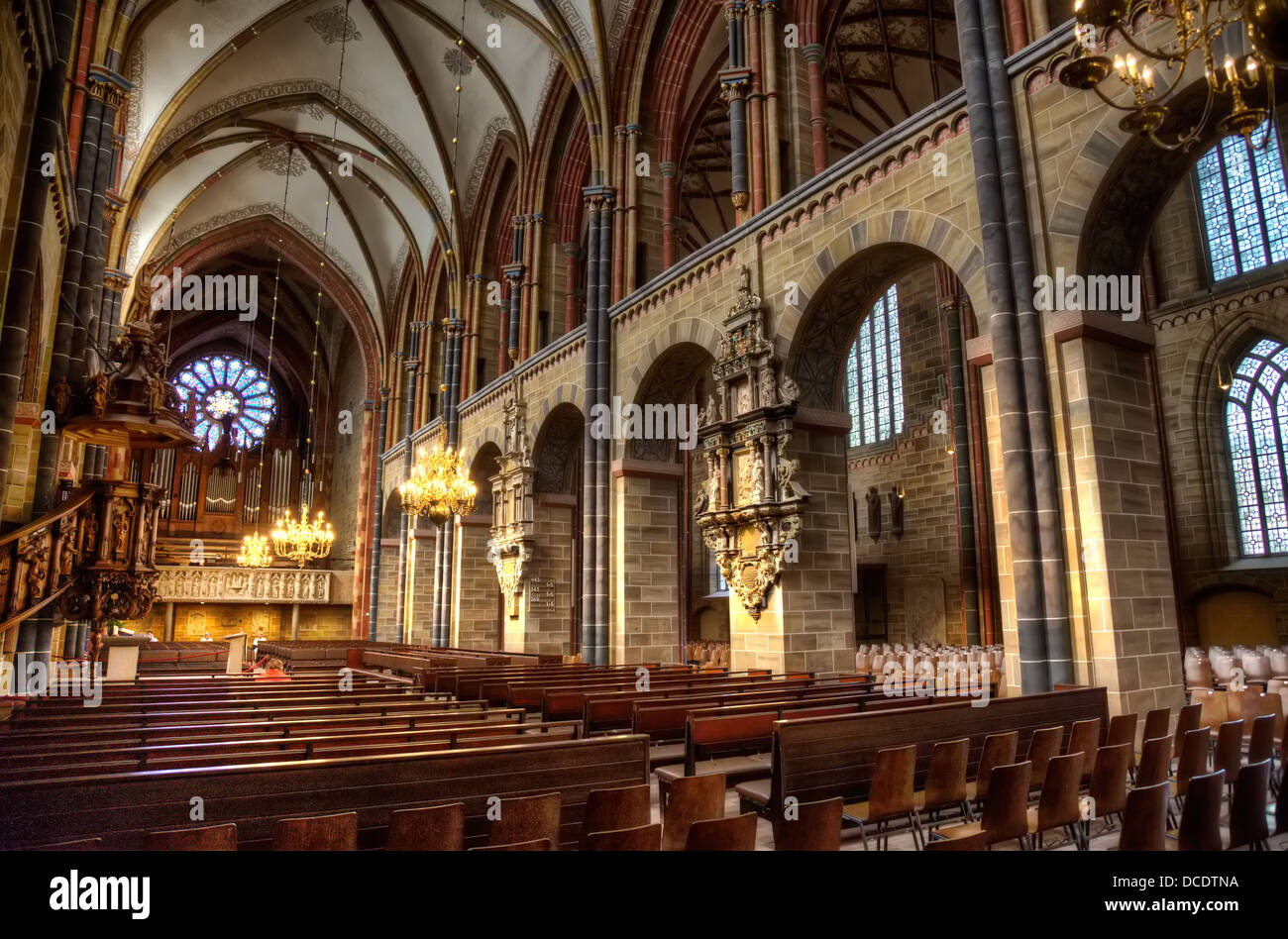 The interior of the bremer dom bremen cathedral which dates from stock photo 59311766 alamy - Inside mobel bremen ...