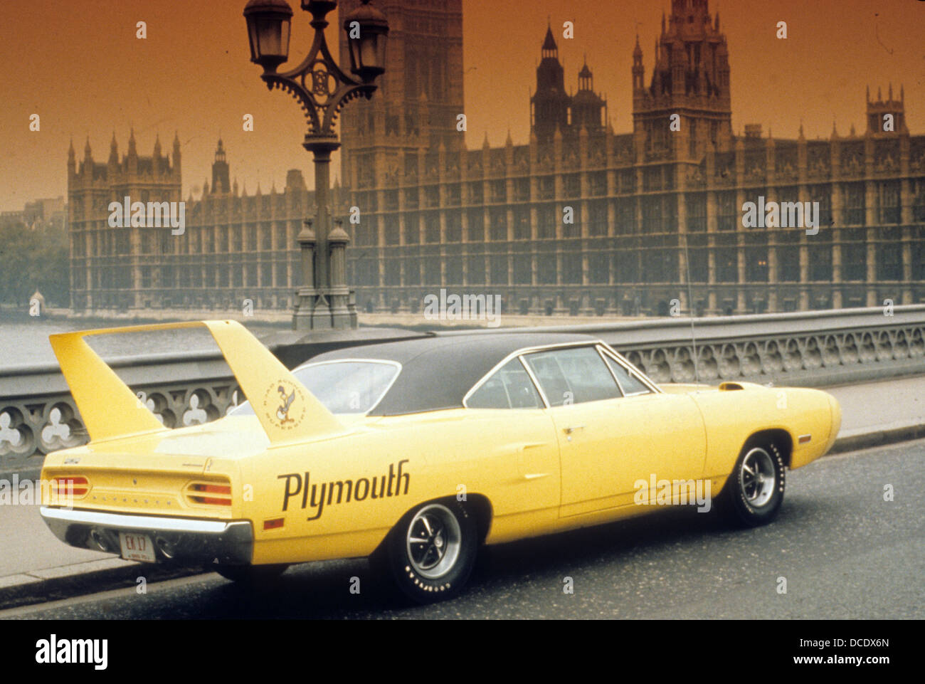 1970 PLYMOUTH SUPERBIRD - Stock Image