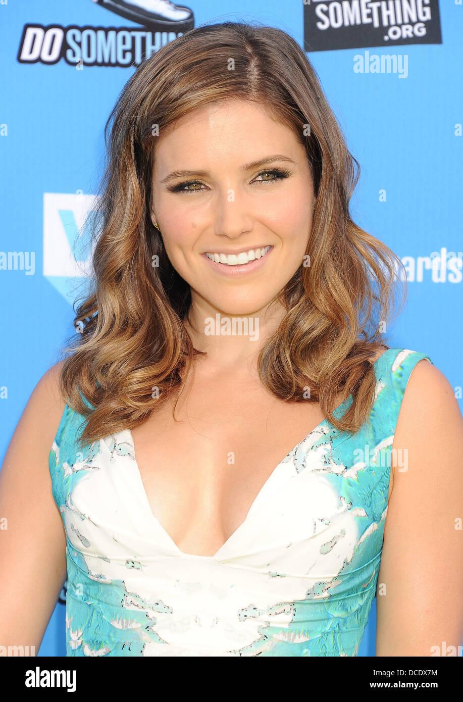 SOPHIA BUSH American TV personality in August 2013. Photo Jeffrey Mayer - Stock Image