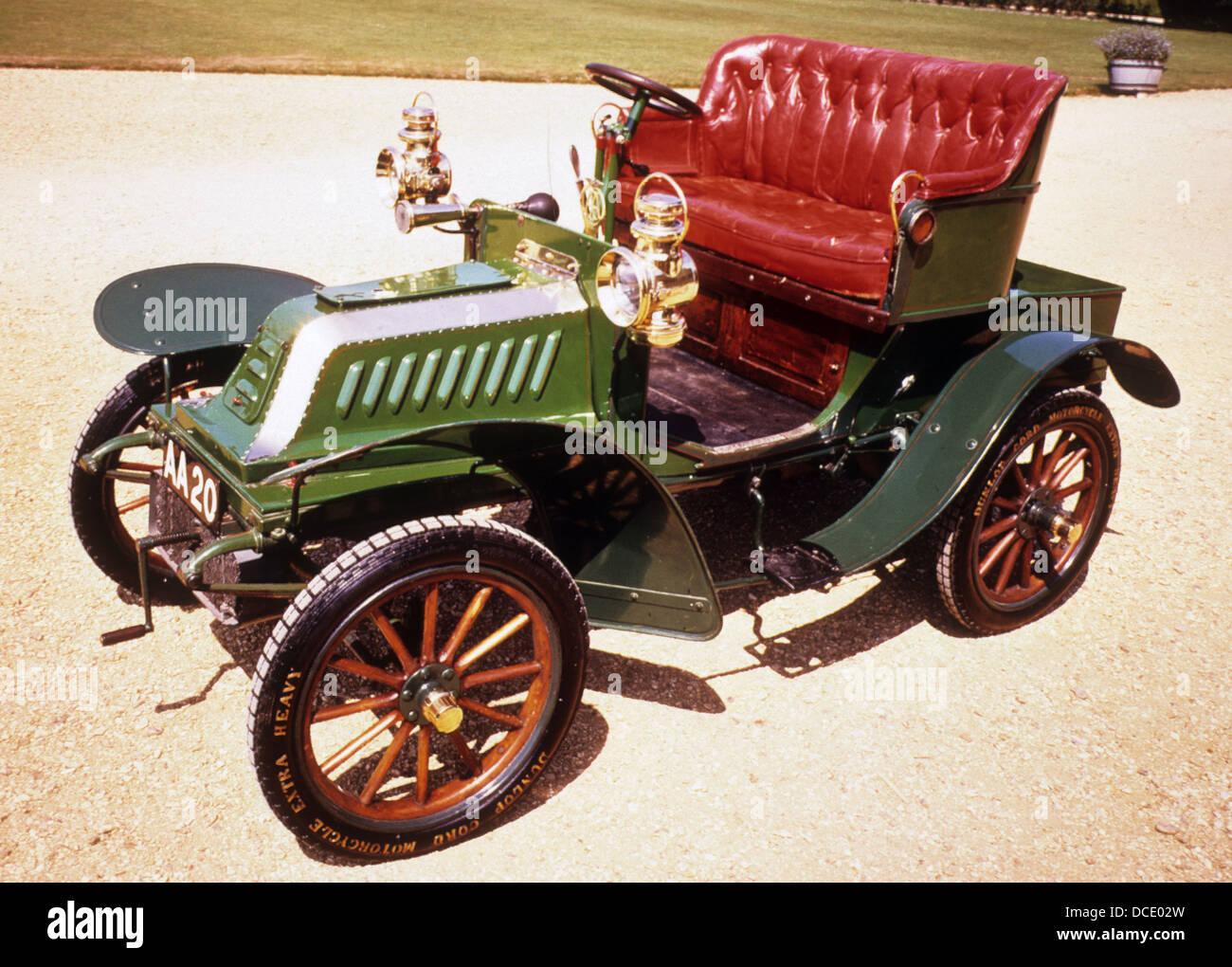 1903 DE DION BOUTON 8CV - Stock Image