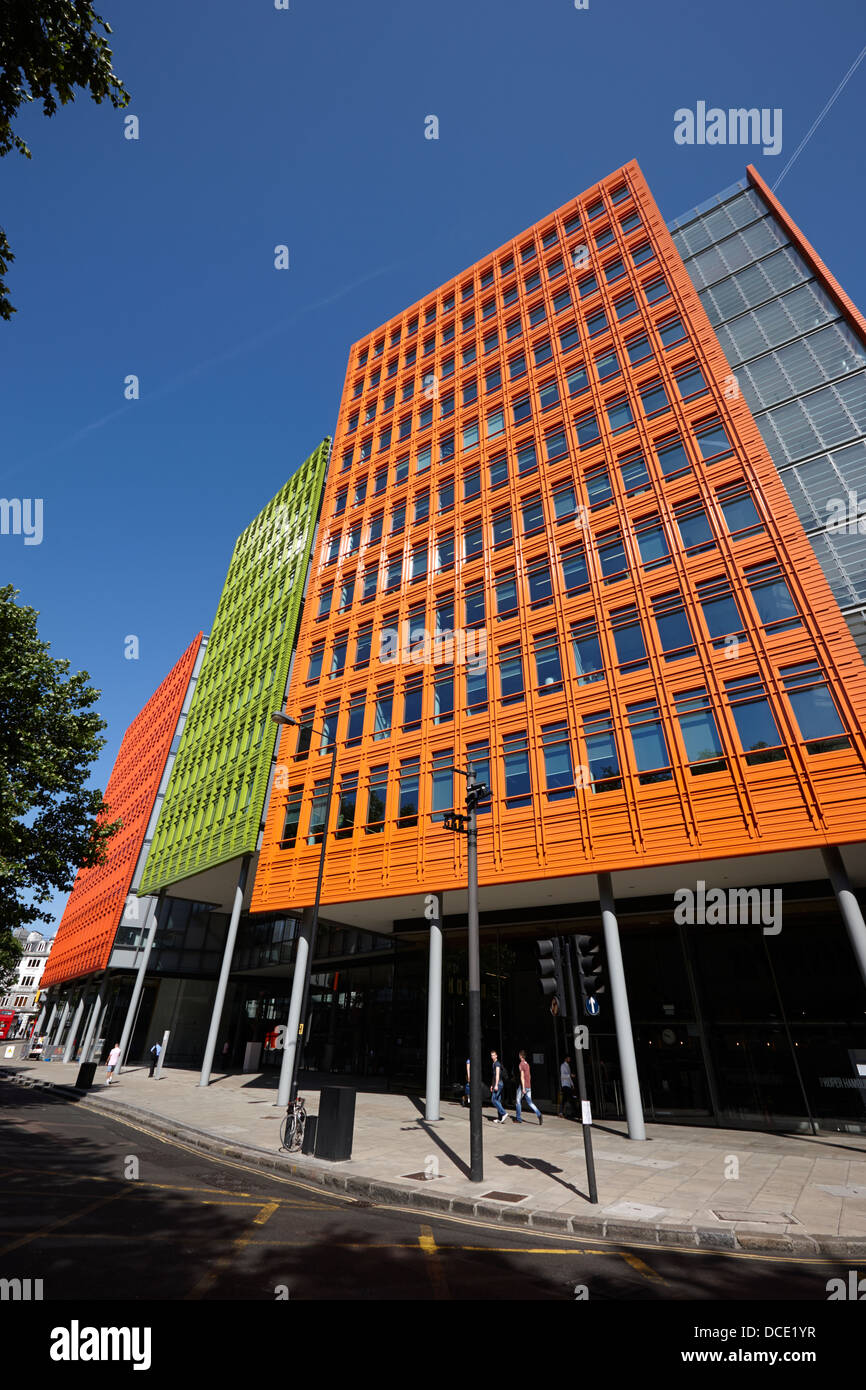 google london office. Central Saint Giles Office Building Home To Google Uk London England UK - Stock Image