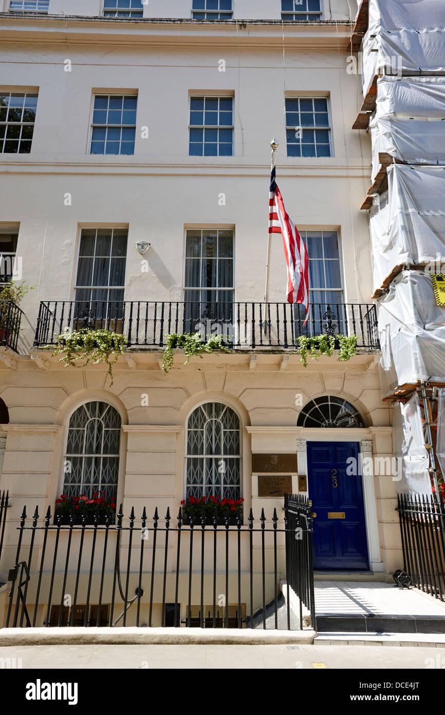 embassy of the republic of liberia London England UK - Stock Image