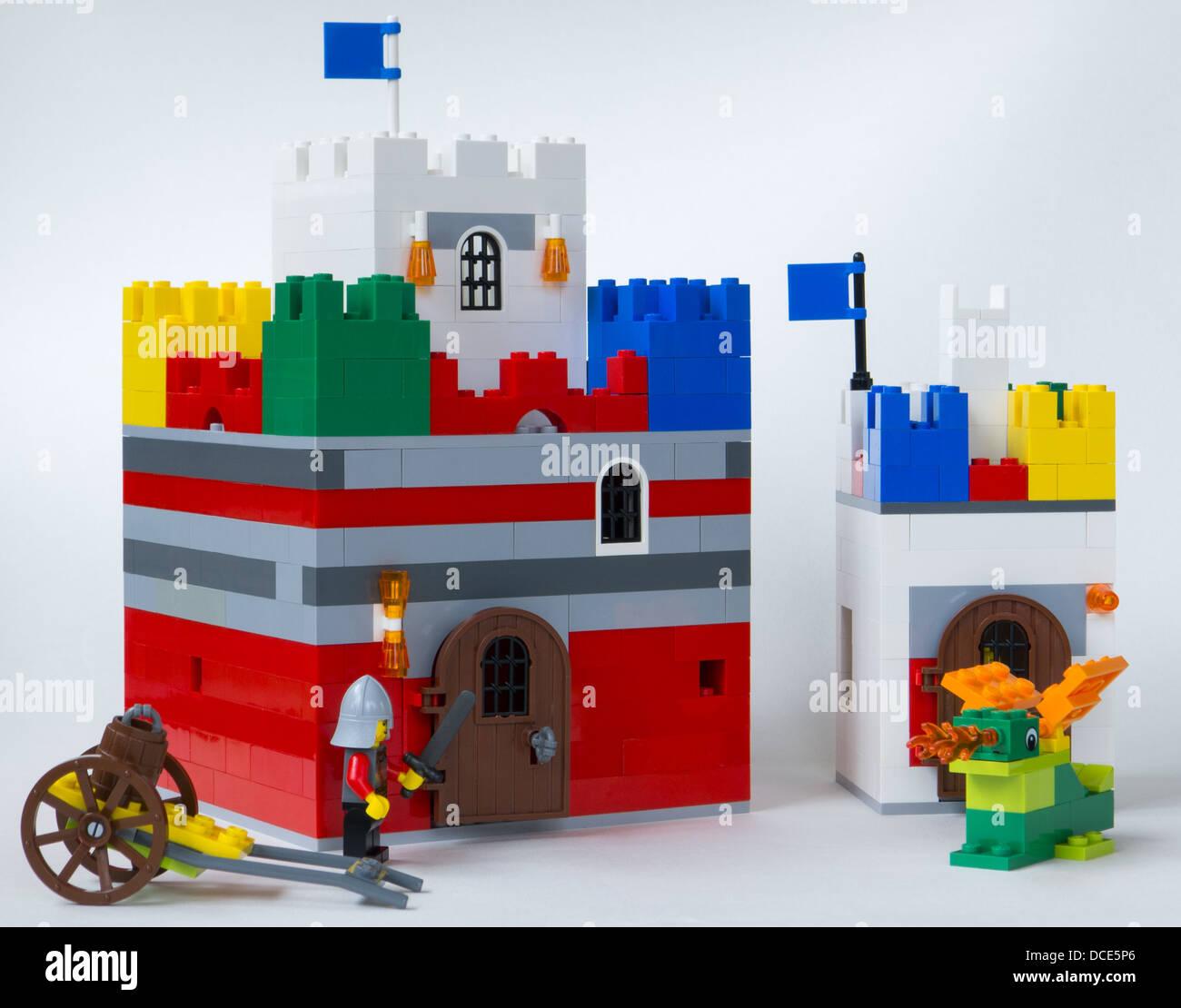 Lego Castle Stock Photos Lego Castle Stock Images Alamy