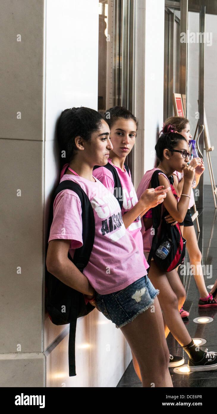 Does plan? teen teen girl explores girl theme