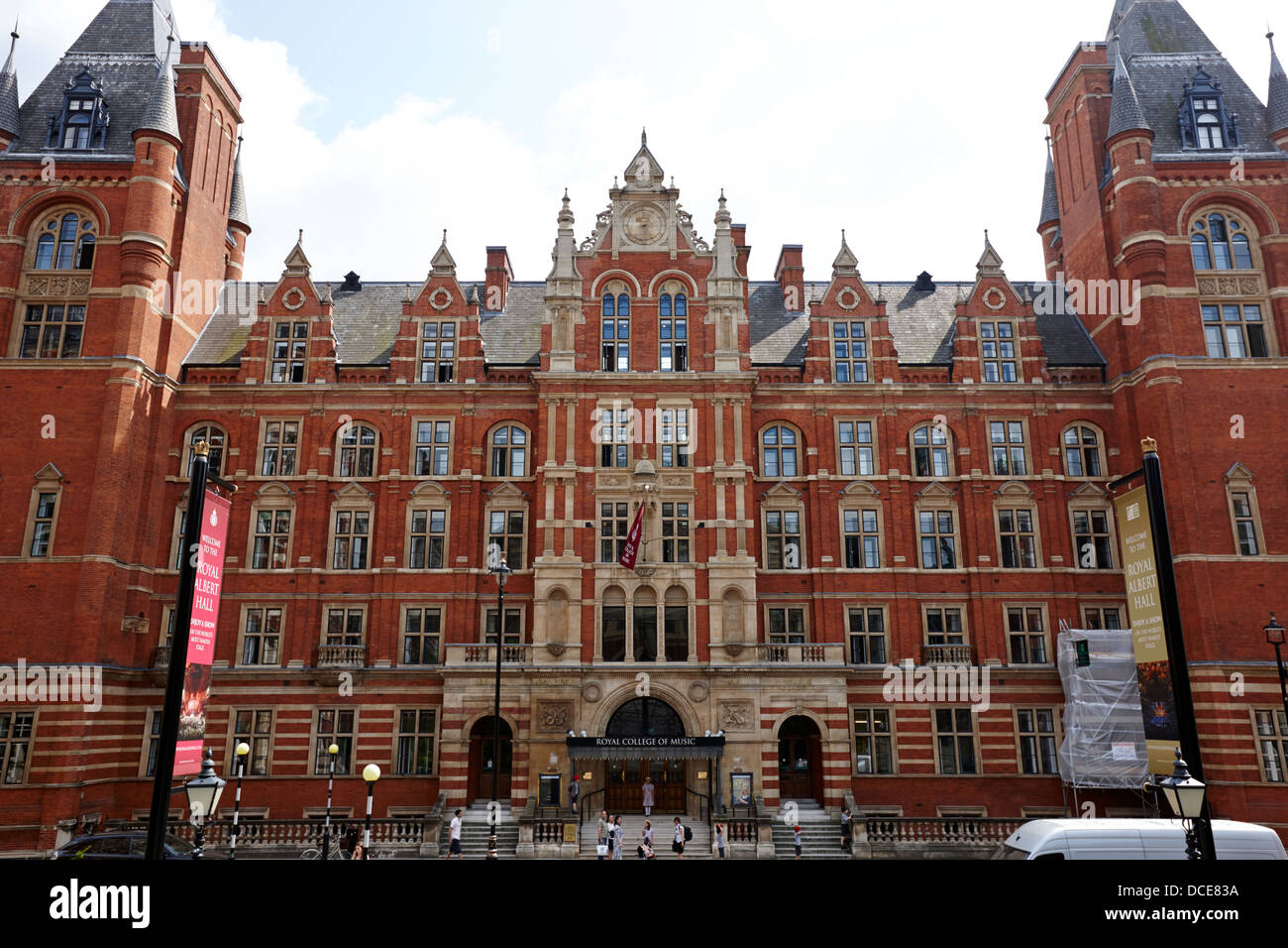 the royal college of music London England UK Stock Photo