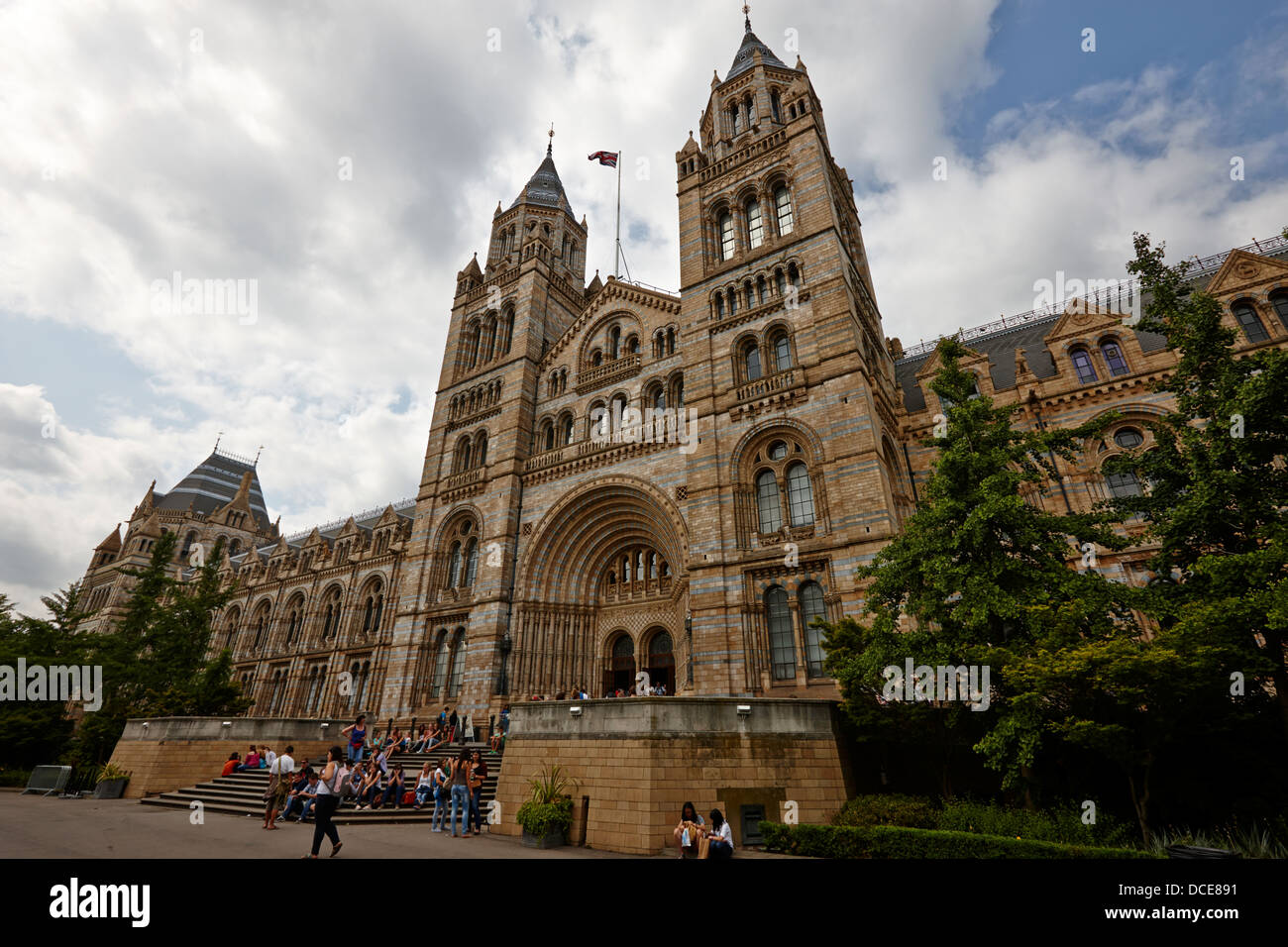 the Natural History Museum London England UK - Stock Image