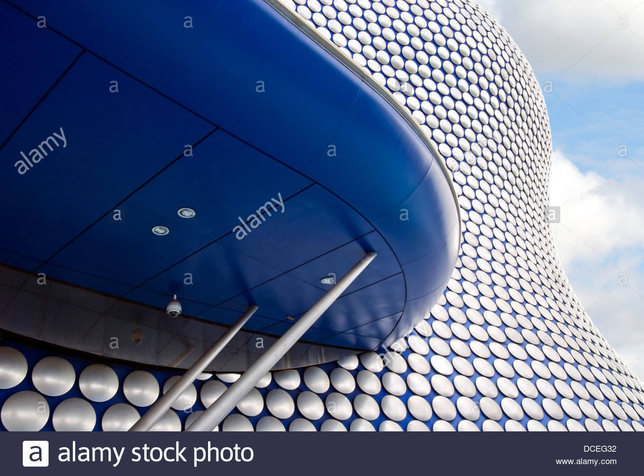 Detail image of the Selfridges Departmentstore at the Bull Ring shopping centre, a major commercial area of Birmingham, - Stock Image