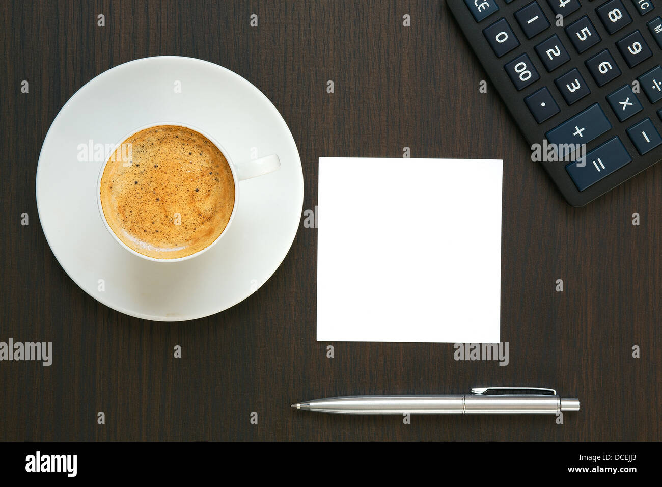 Business concept. Workplace. Stock Photo