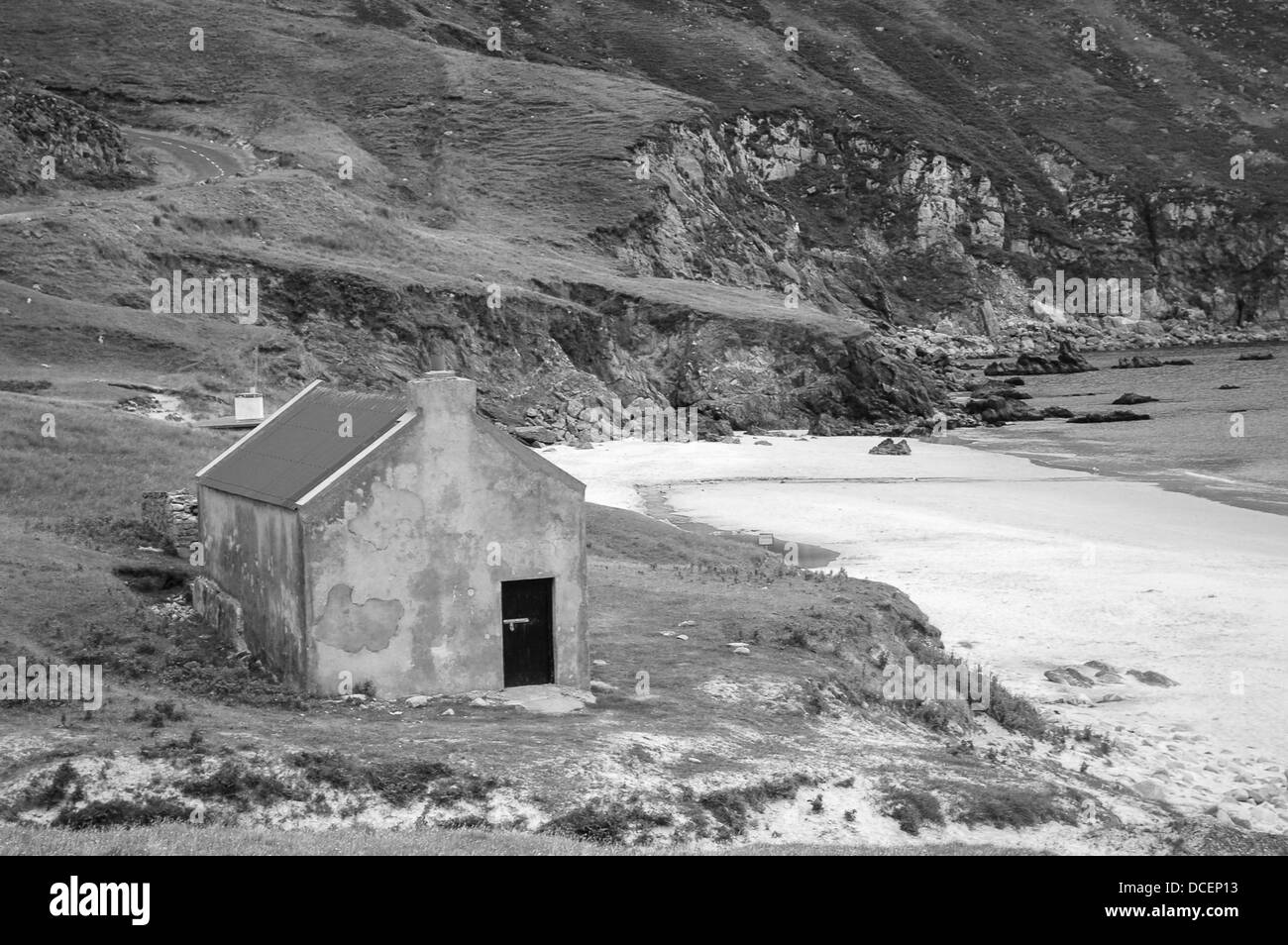 Keen Bay Achill Island Co Mayo Ireland - Stock Image