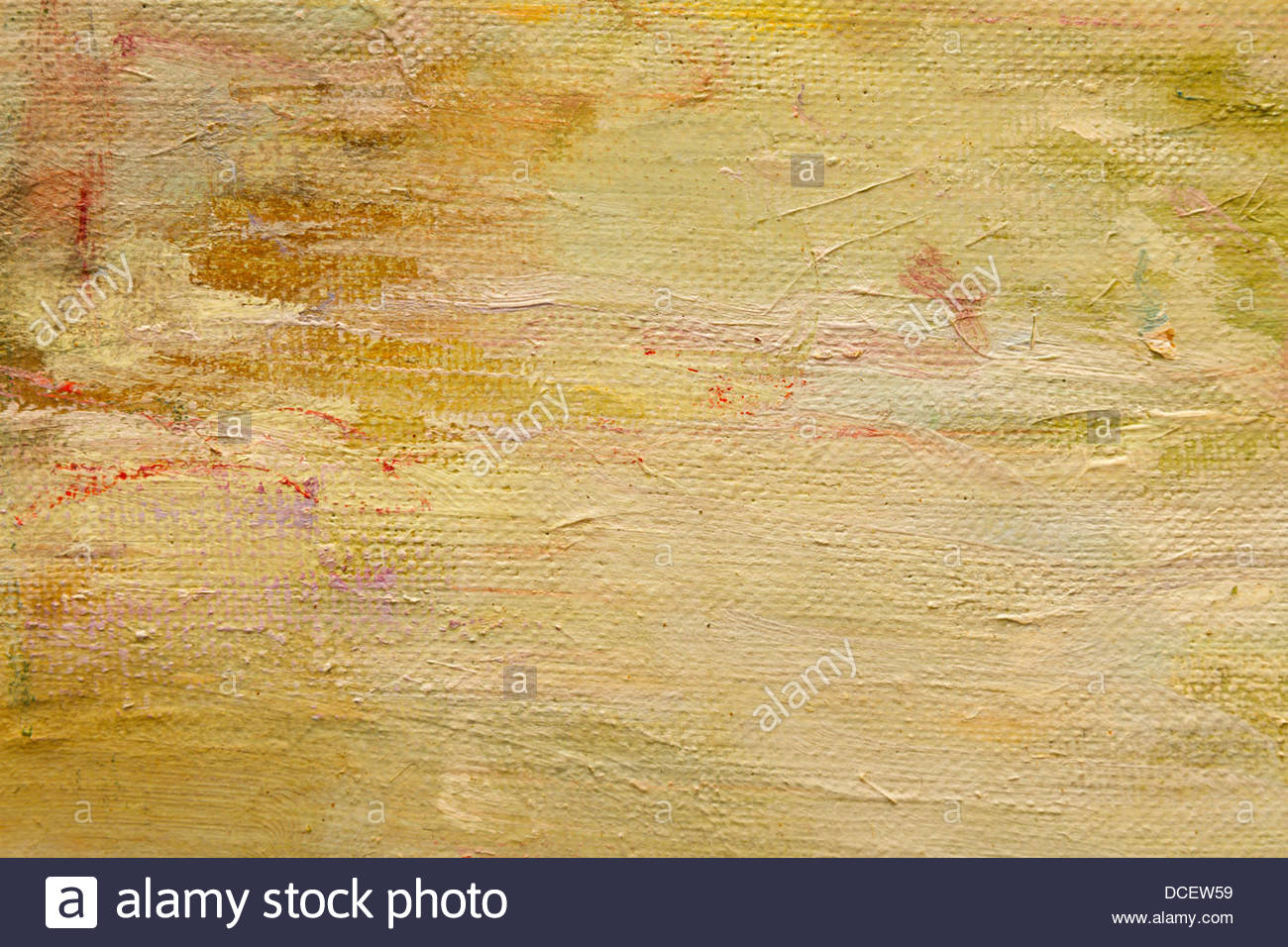 Abstract Wallpaper Of Oil Painting With Brush Strokes In Pastel Colors
