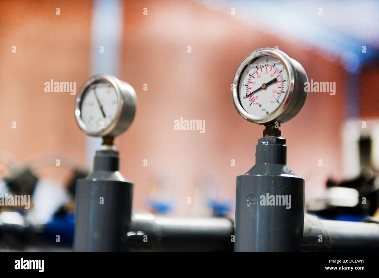 Industrial devices - Stock Image