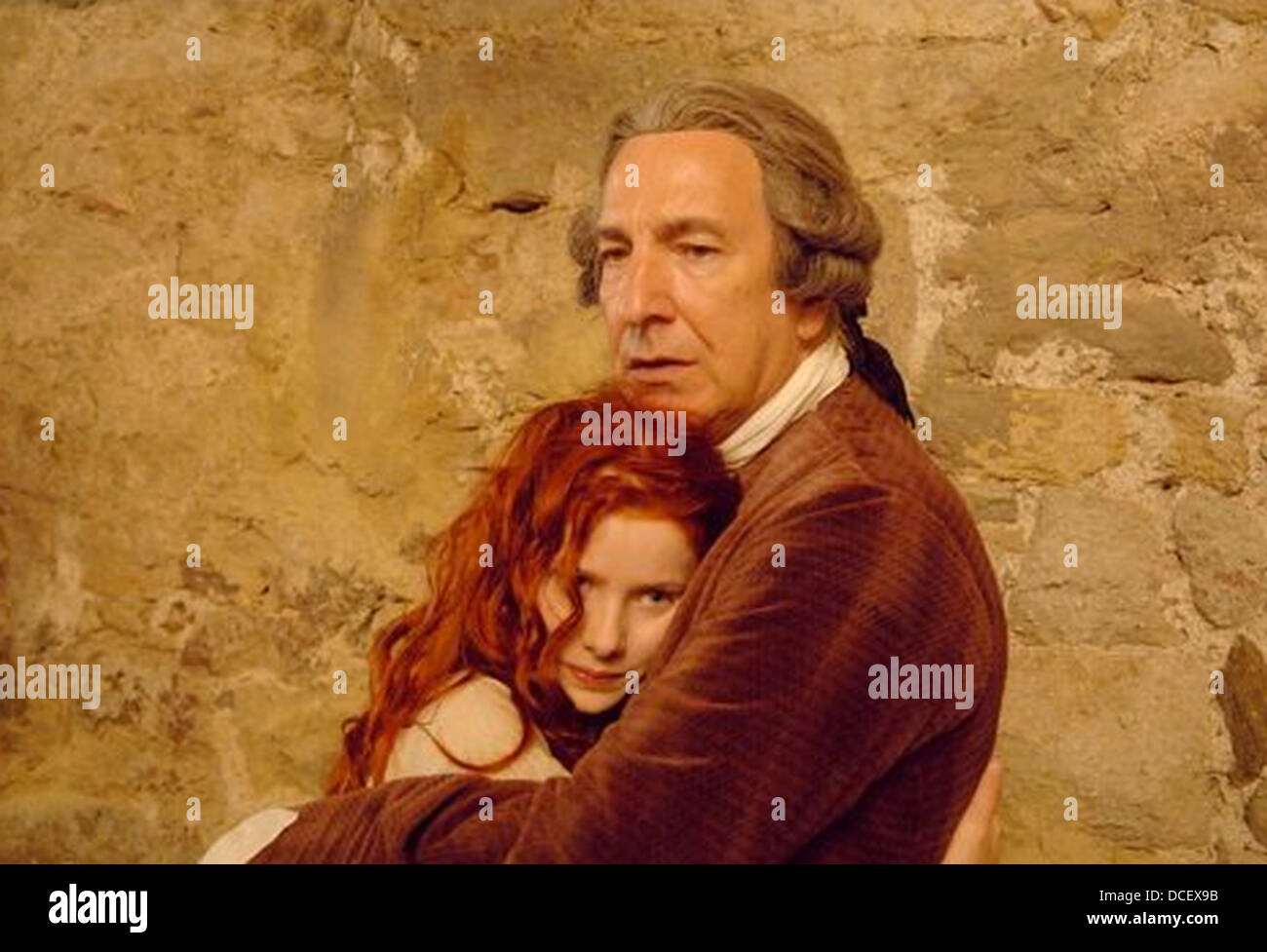 PERFUME: THE STORY OF A MURDERER 2006 Metropolitan film production with Rachel Hurd-Wood and Alan Rickman - Stock Image