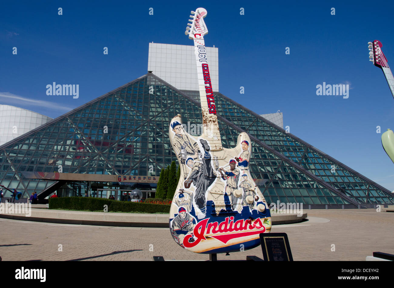 Rock And Roll Hall Of Fame Cleveland Stock Photos & Rock And
