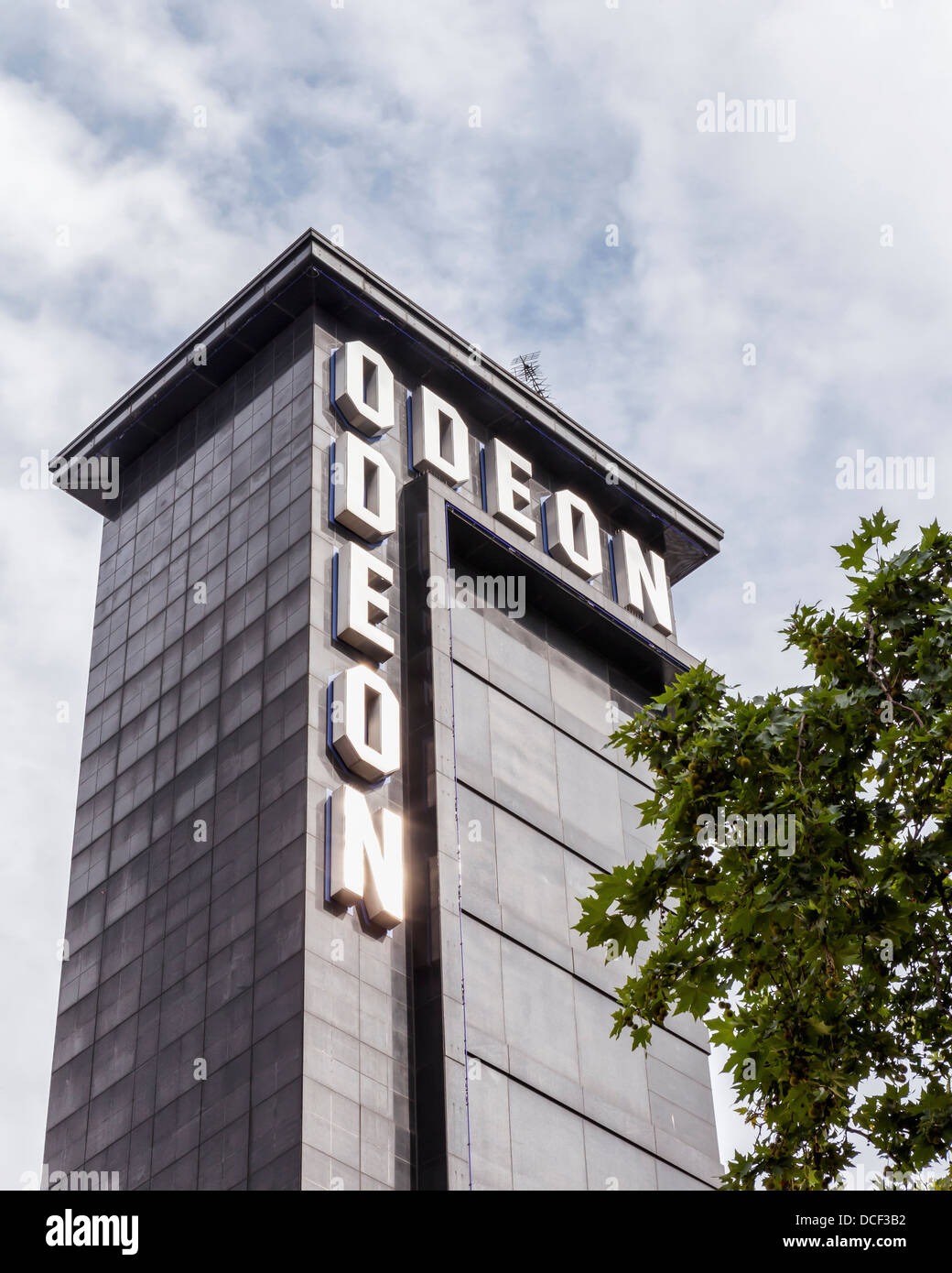 Odeon cinema - Leicester Square, London - Stock Image
