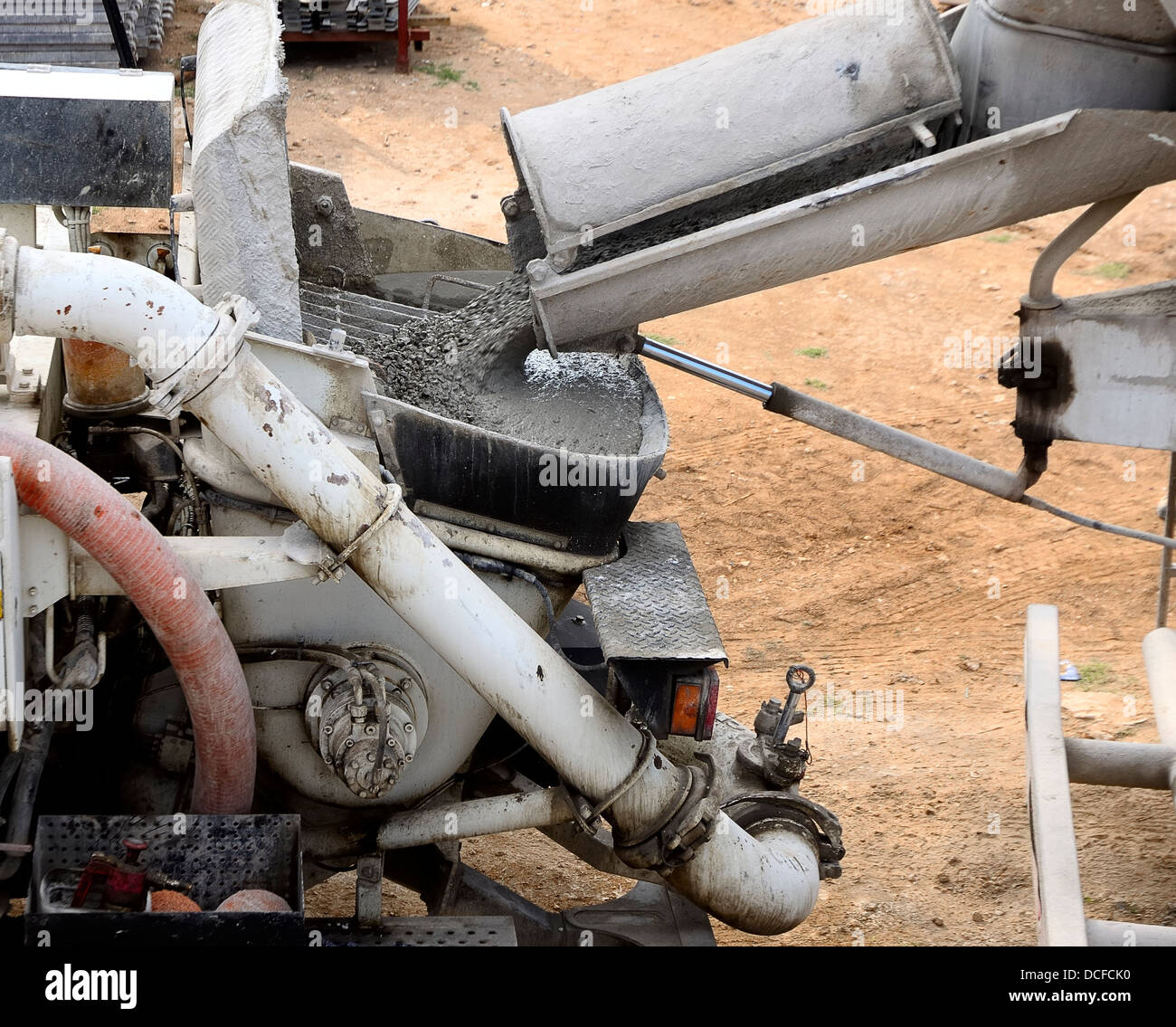 Pump Trailer Stock Photos & Pump Trailer Stock Images - Alamy