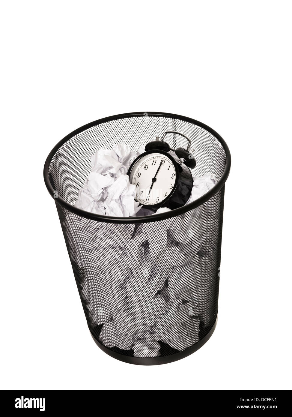 Wasting Time - Stock Image