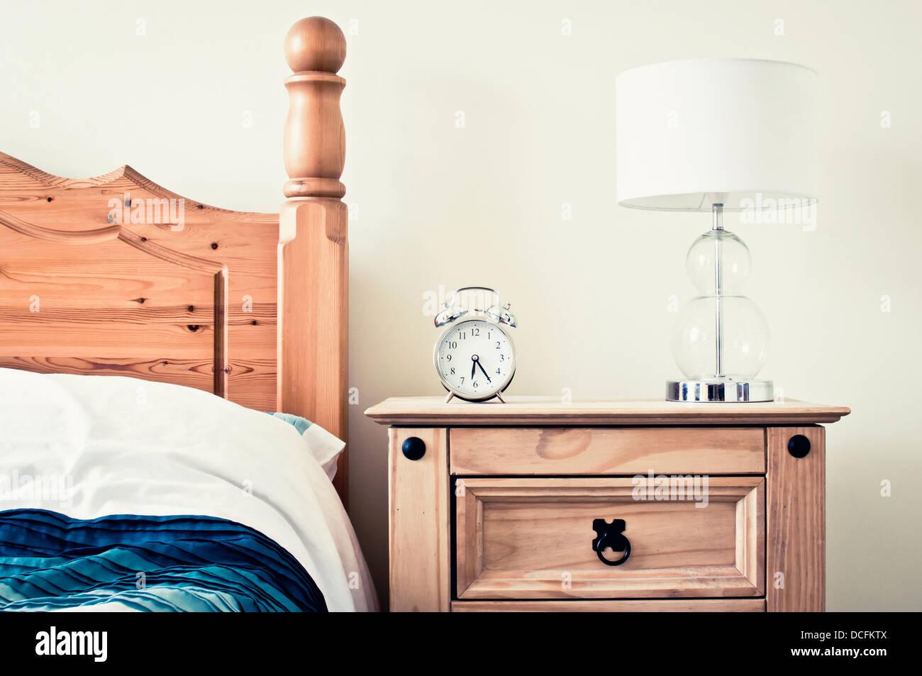 Retro bedroom furniture - Stock Image