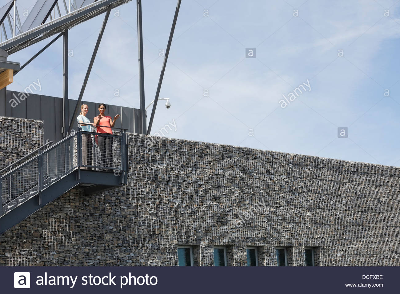 Businesswomen envisioning future plans - Stock Image