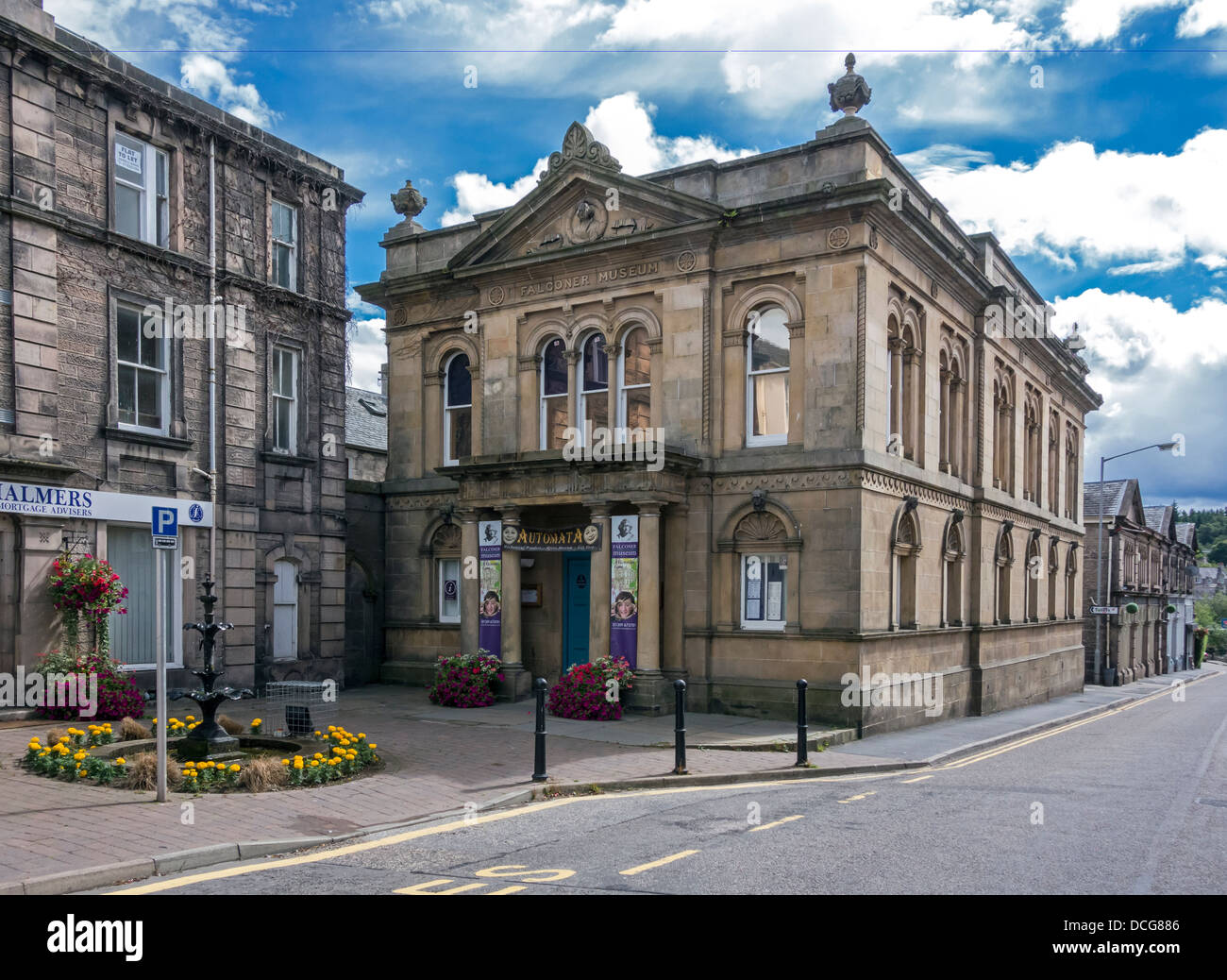The Falkoner Museum Forres Moray Scotland - Stock Image