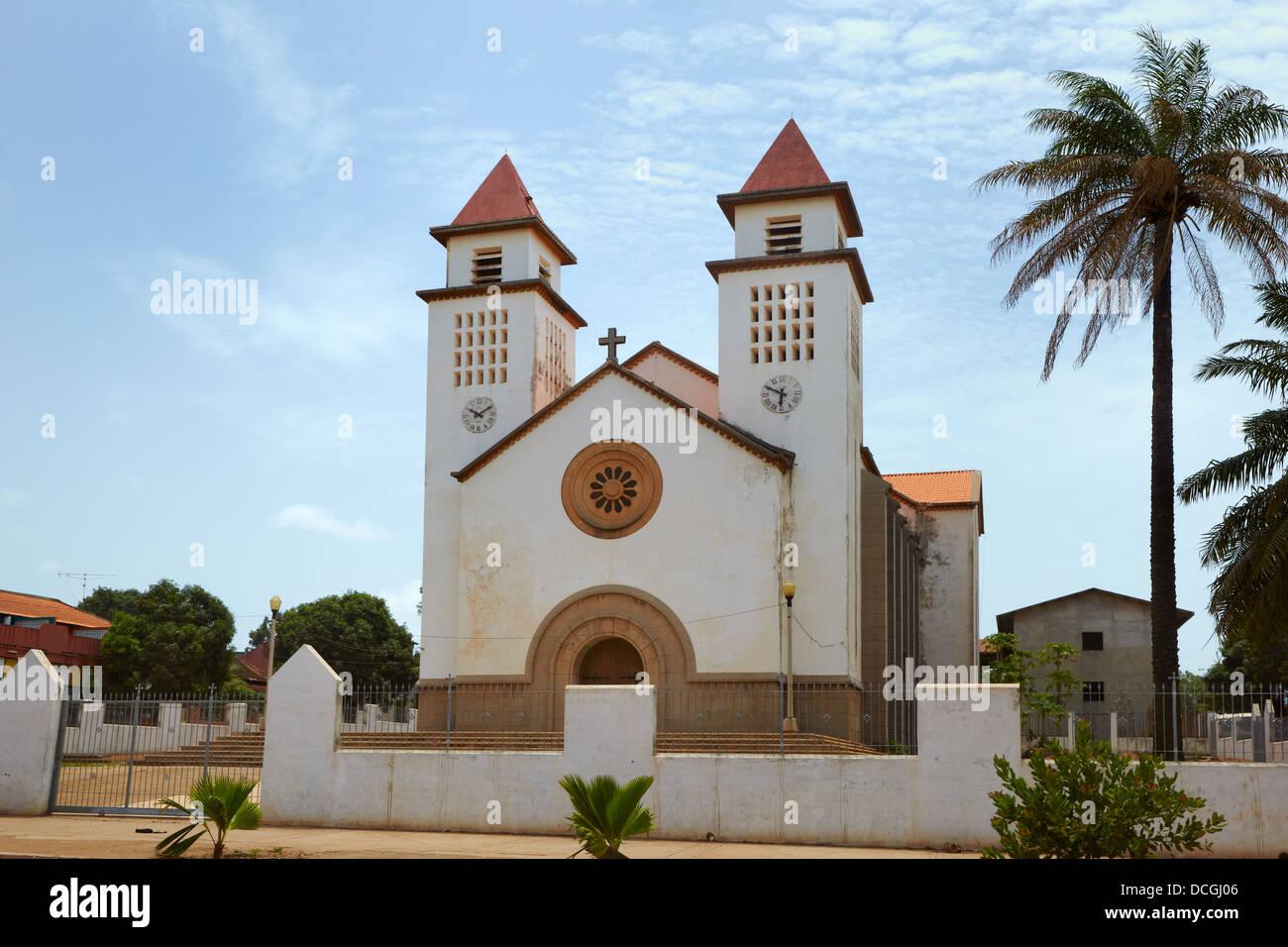 Catedral de Bissau, Bissau, Guinea-Bissau, Africa - Stock Image
