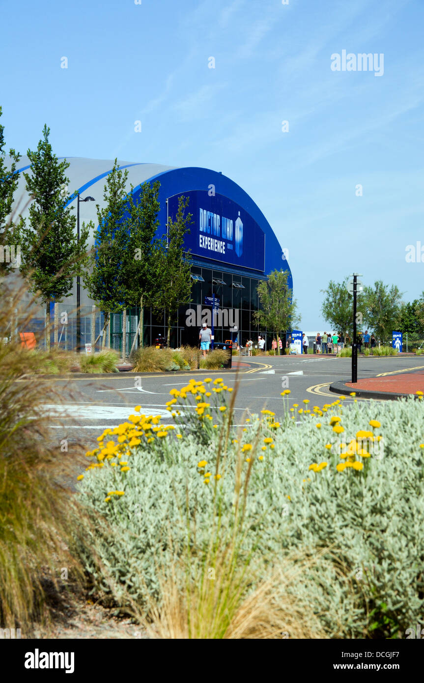 The Doctor Who Experience, Cardiff Bay, South Wales. - Stock Image