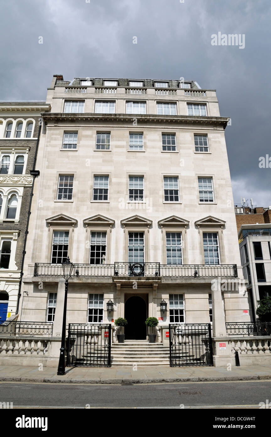 ACCA UK Association of Chartered Certified Accountants 29 Lincoln's Inn Fields, London England UK - Stock Image