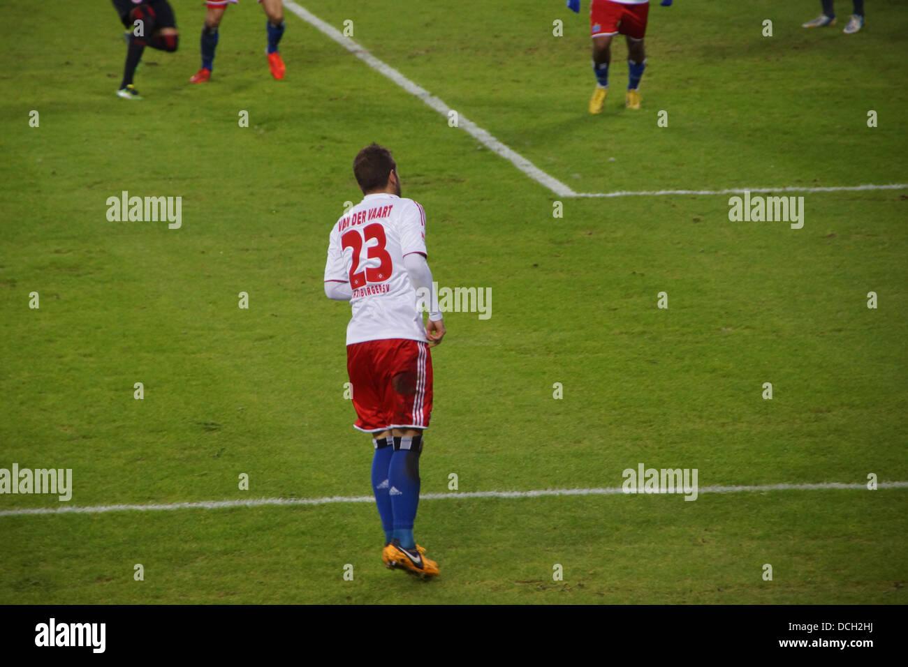 The football player Rafael van der Vaart from the team Hamburger Sportverein HSV Hamburg Stock Photo