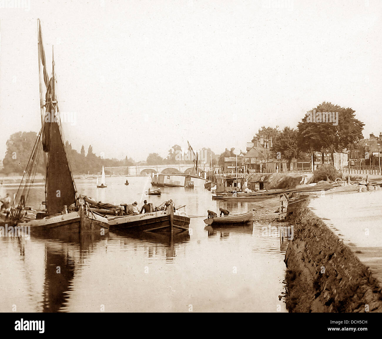 Kingston-on-Thames Victorian period - Stock Image