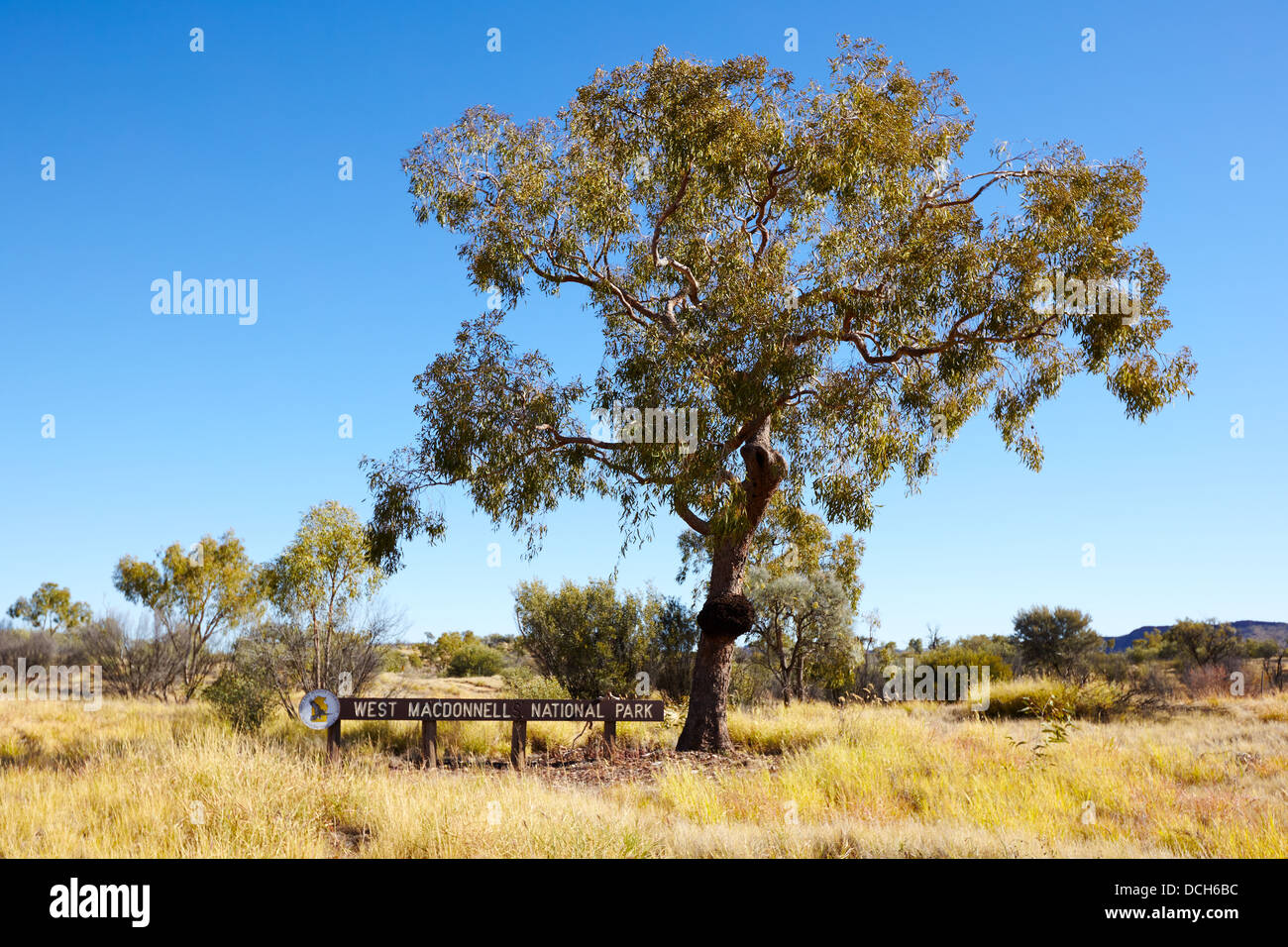 West MacDonnell National Park, Australia - Stock Image