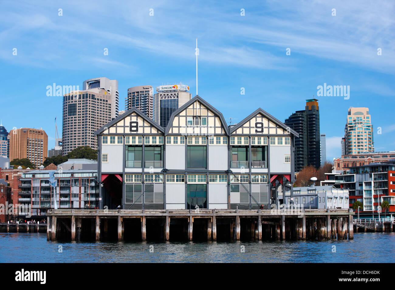 Walsh Bay Redevelopment, Sydney, Australia - Stock Image