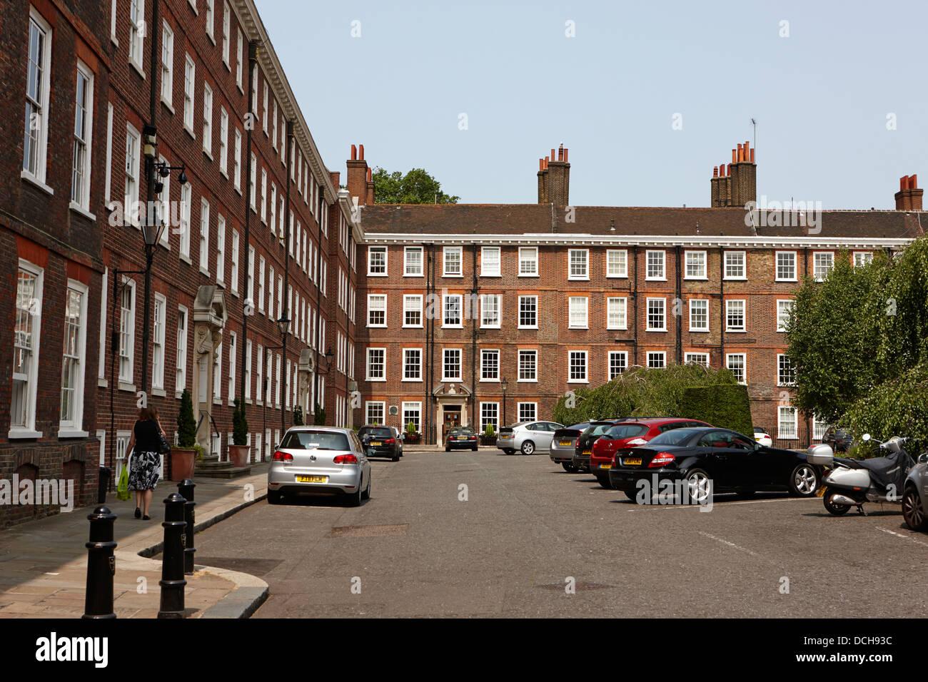 grays inn square London England UK - Stock Image