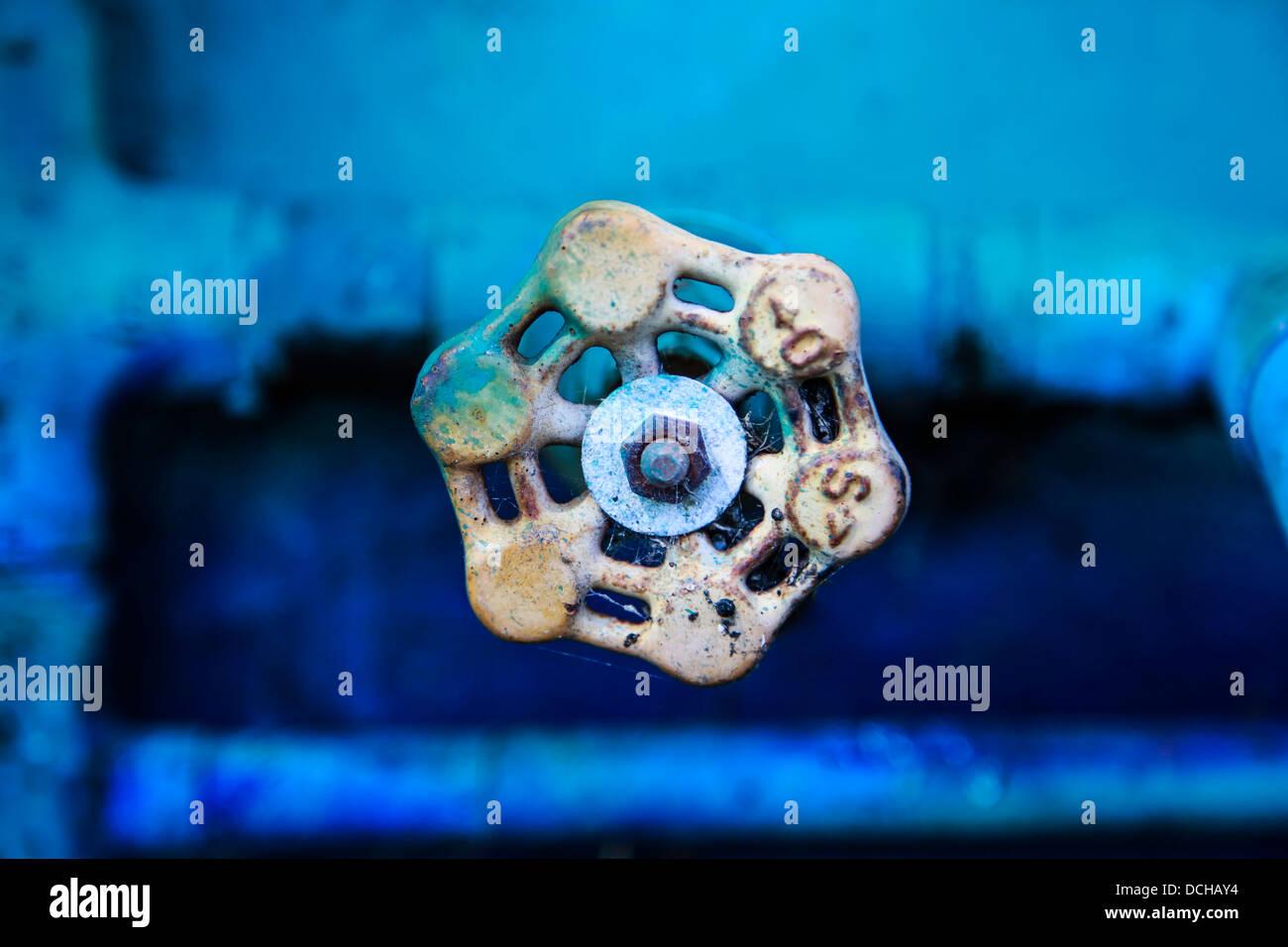 Rusty Spigot Handle Stock Photo: 59388760 - Alamy