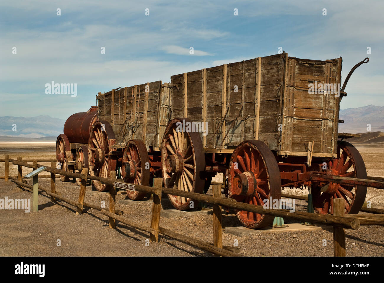 Twenty Mule Team Wagons, Harmony Borax Works, Death Valley