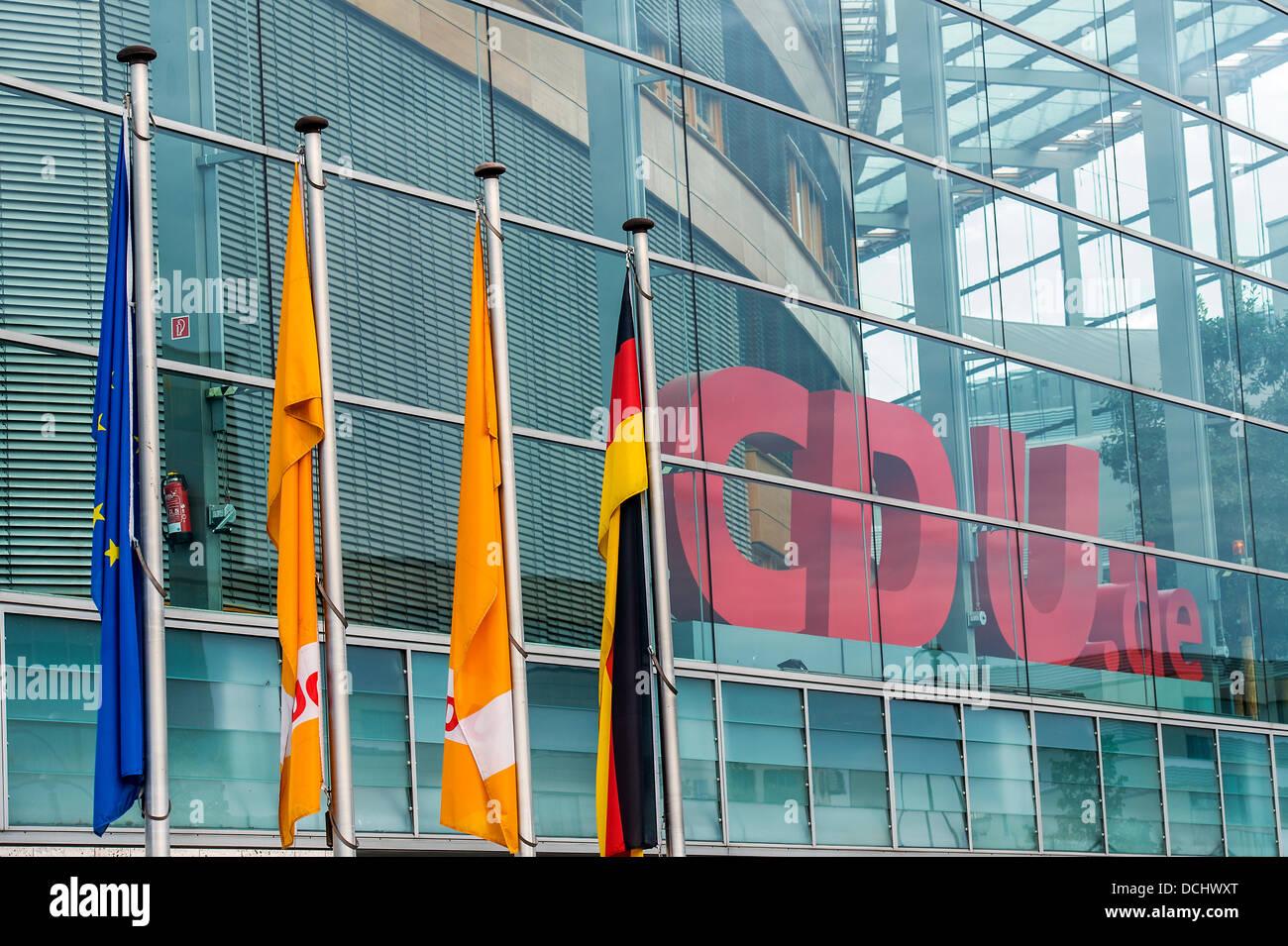 Berlin germany august th the cdu political members