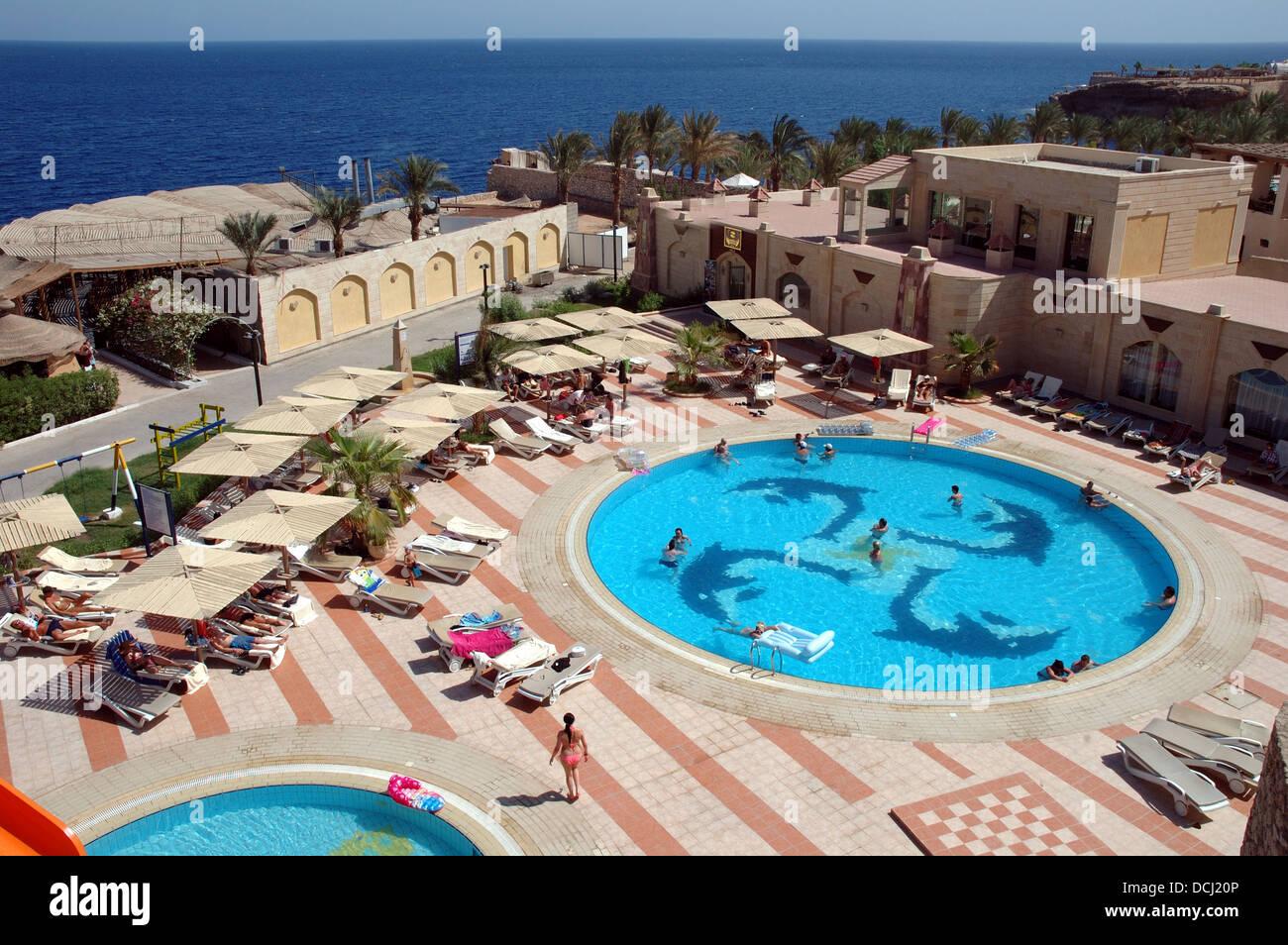 Dreams Beach Resort, Um El Sid, Sharm El Sheikh, Egypt. - Stock Image