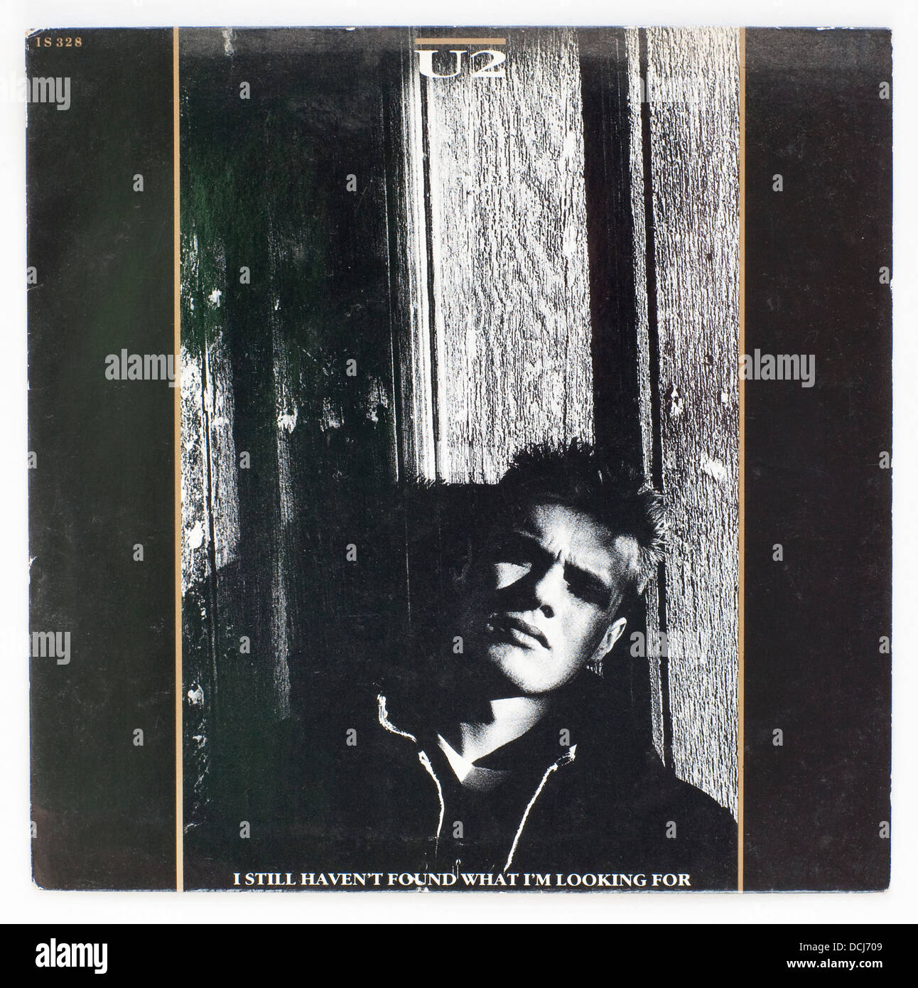 U2 - I Still haven't Found What I'm Looking For 1987 picture cover single on Island Records - Stock Image