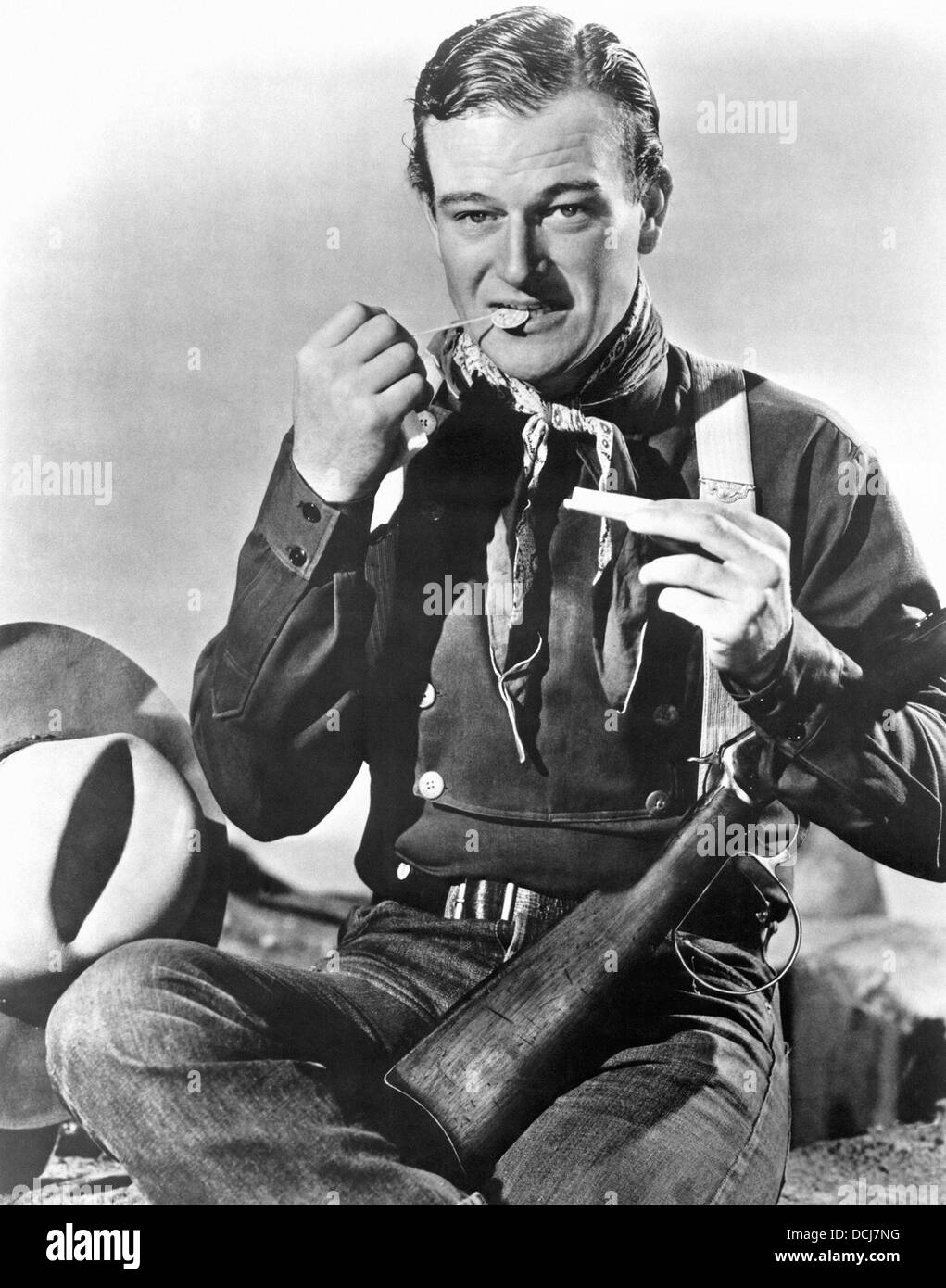STAGECOACH - John Wayne - Directed by John Ford - United Artists 1939 - Stock Image