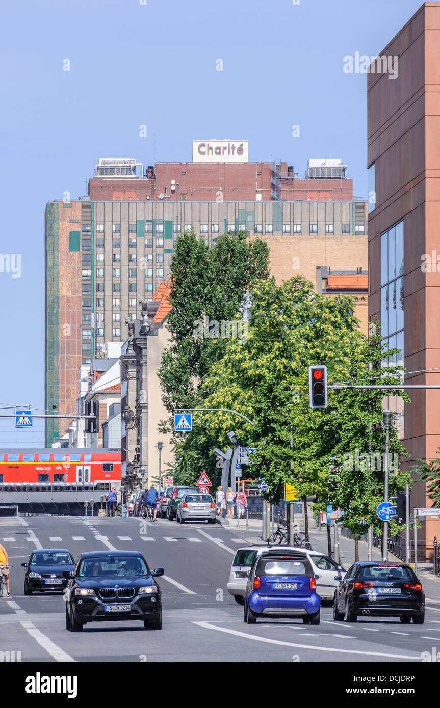 University hospital Charité building - Berlin Germany Stock Photo